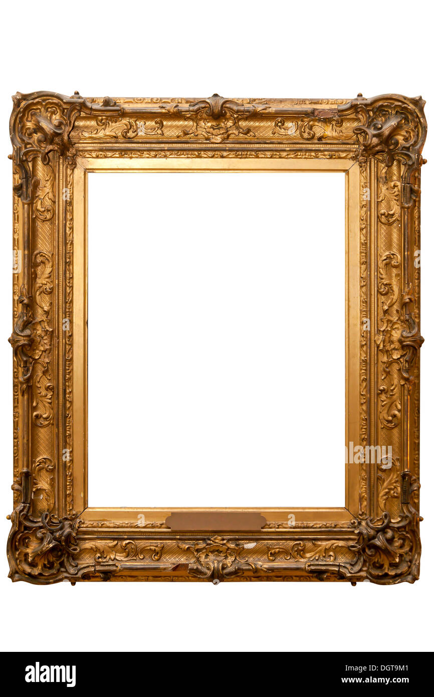 Gilded picture frame Stock Photo: 62000065 - Alamy