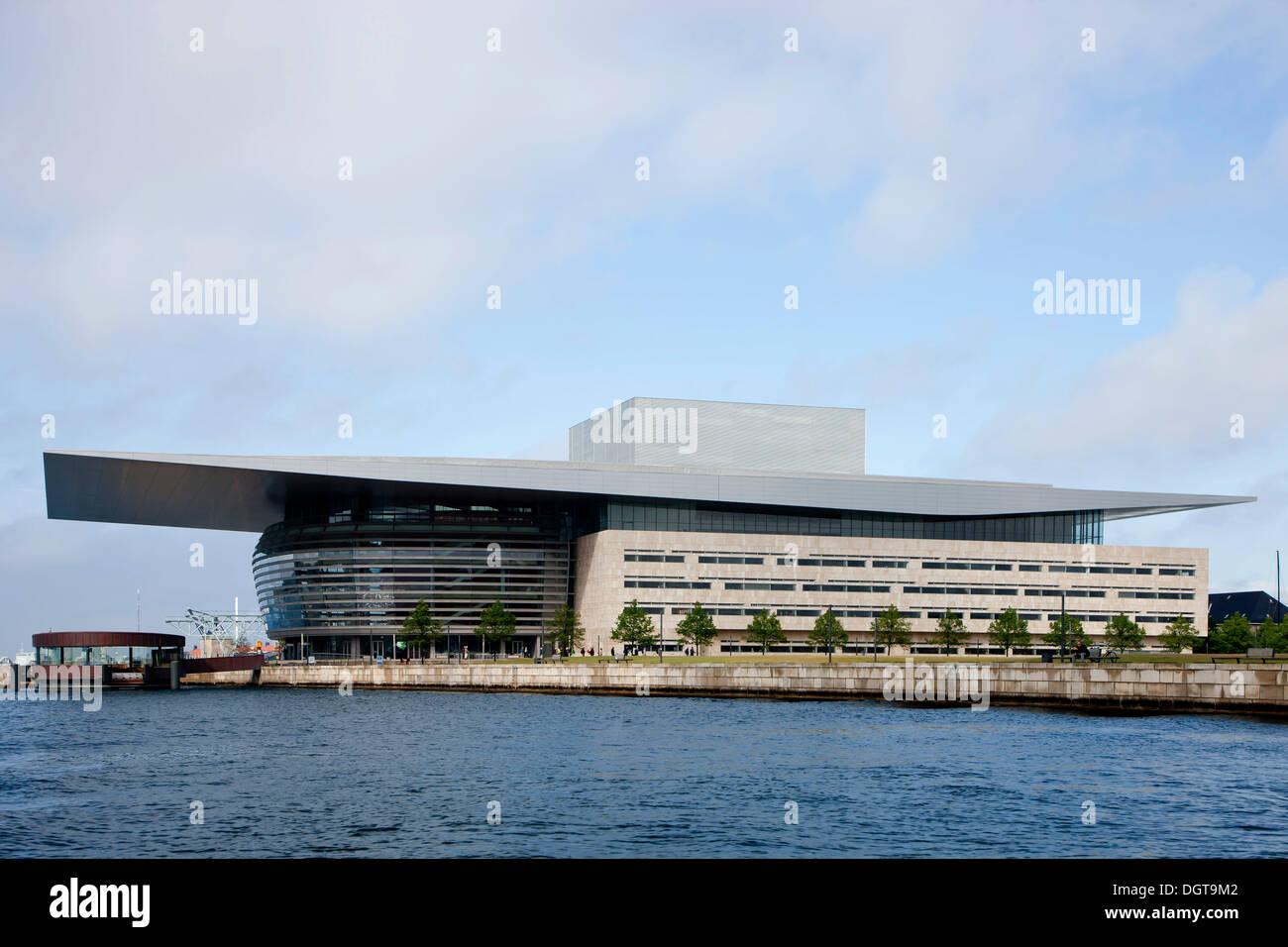 The Copenhagen Opera House, Operaen, Copenhagen, Denmark Stock Photo