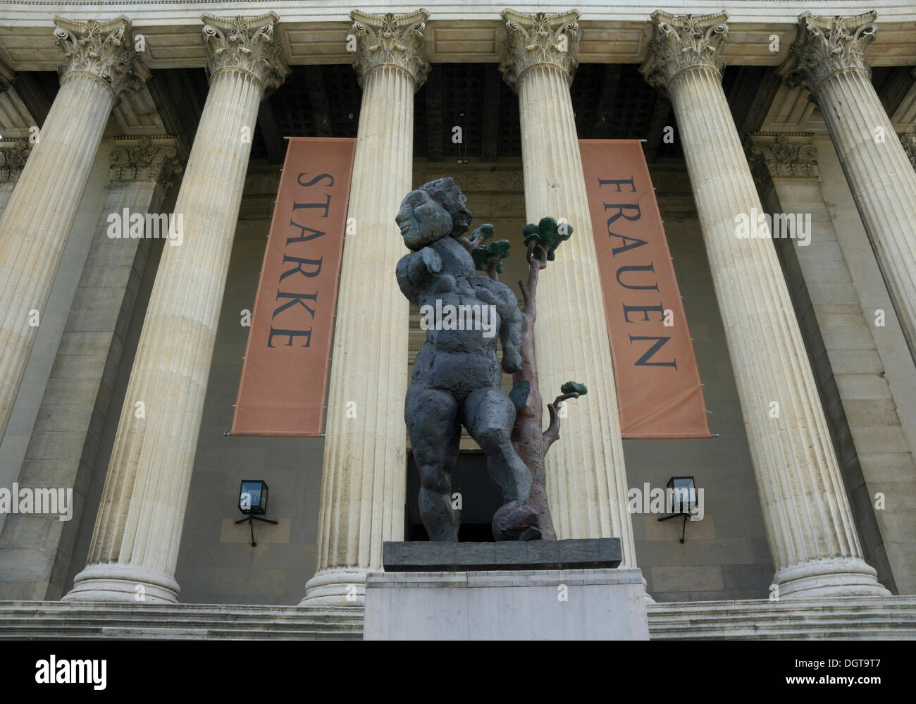 State collections of antiquities, Munich, Bavaria - Stock Image