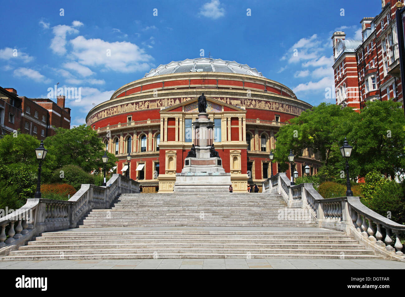 The Royal Albert Hall in London - Stock Image