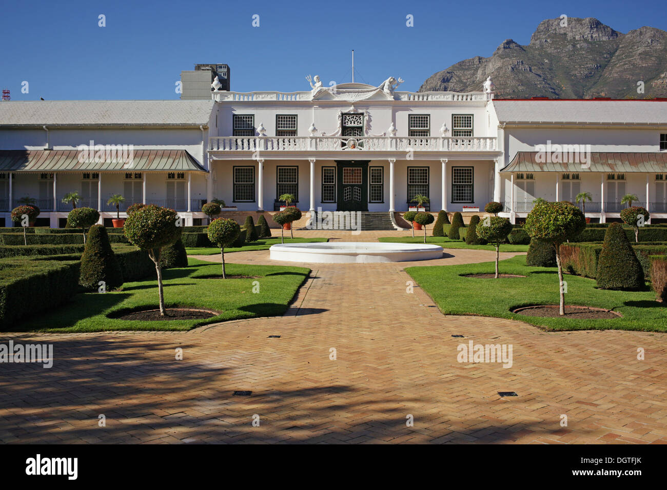 De Tuynhuys @ The Company's Garden in Cape Town - Stock Image
