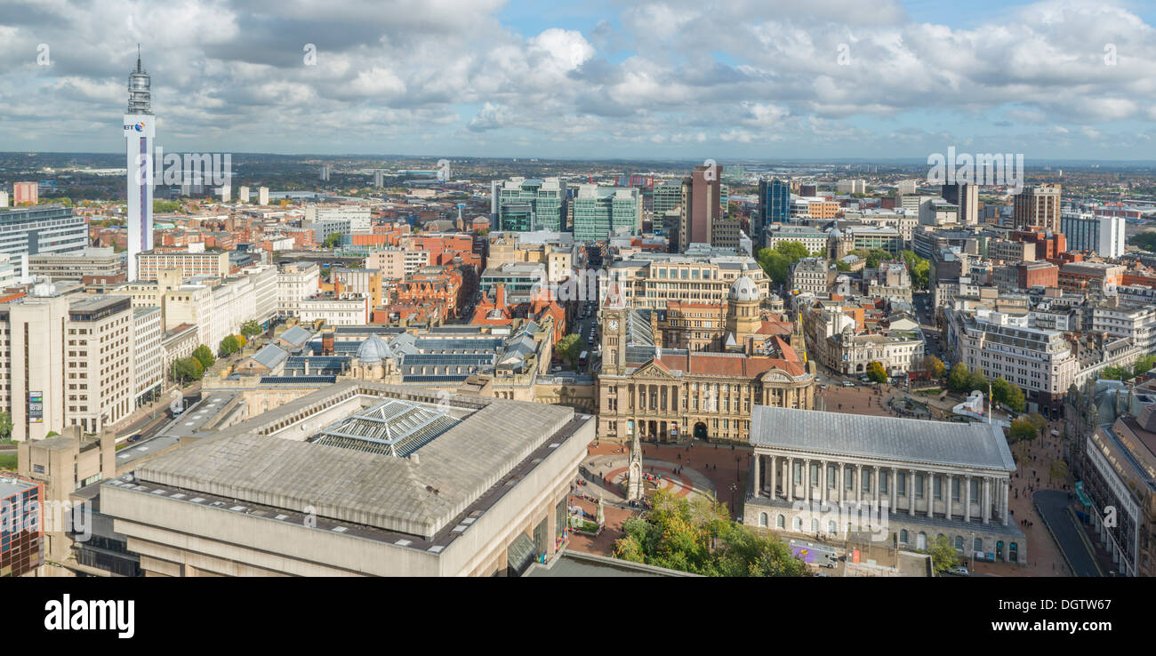 Birmingham city centre, West Midlands, England, UK, West Midlands, England, UK - Stock Image