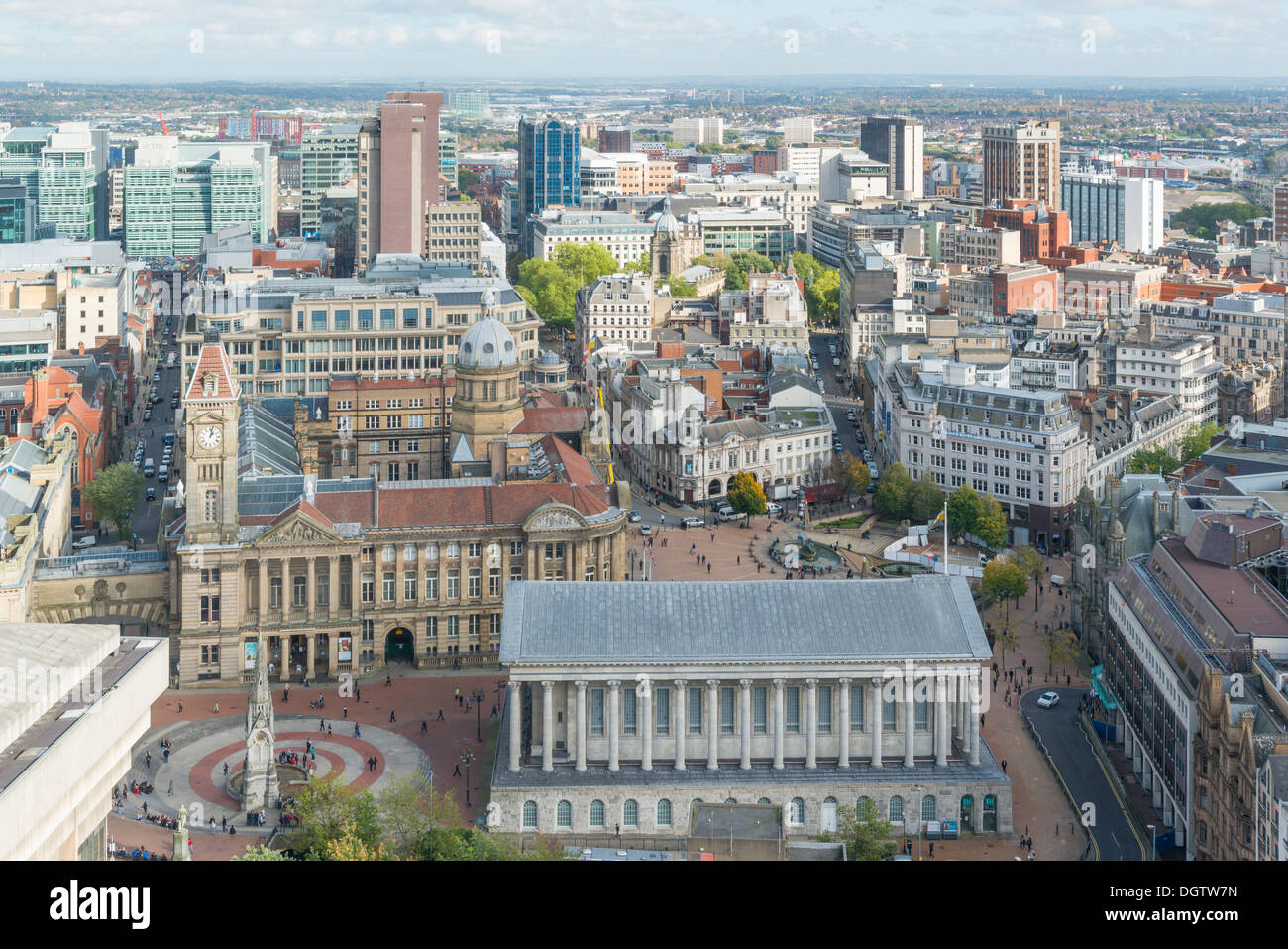 Birmingham city centre, West Midlands, England, UK, West Midlands, England, UK Stock Photo