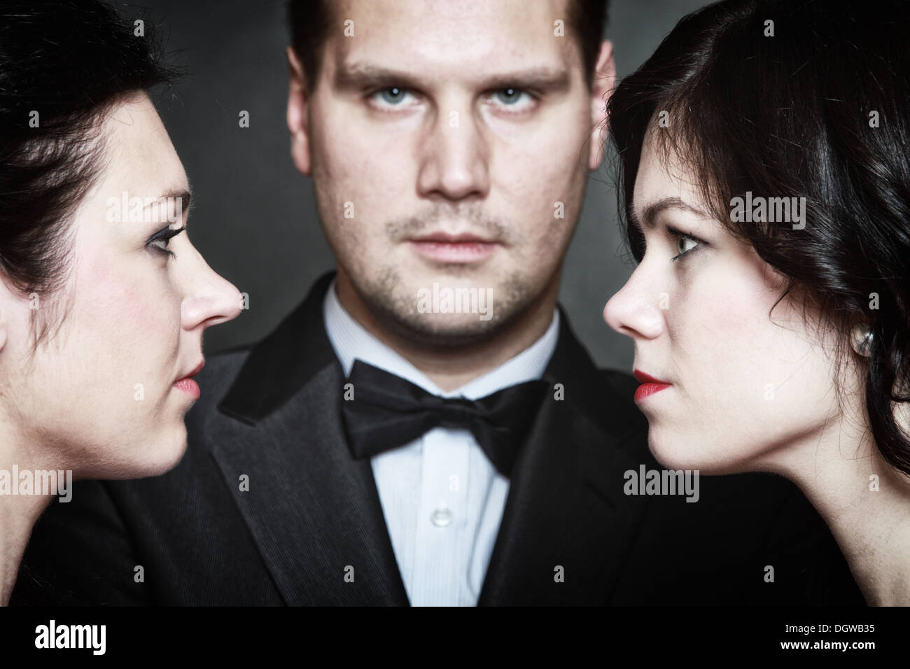 men who love two women