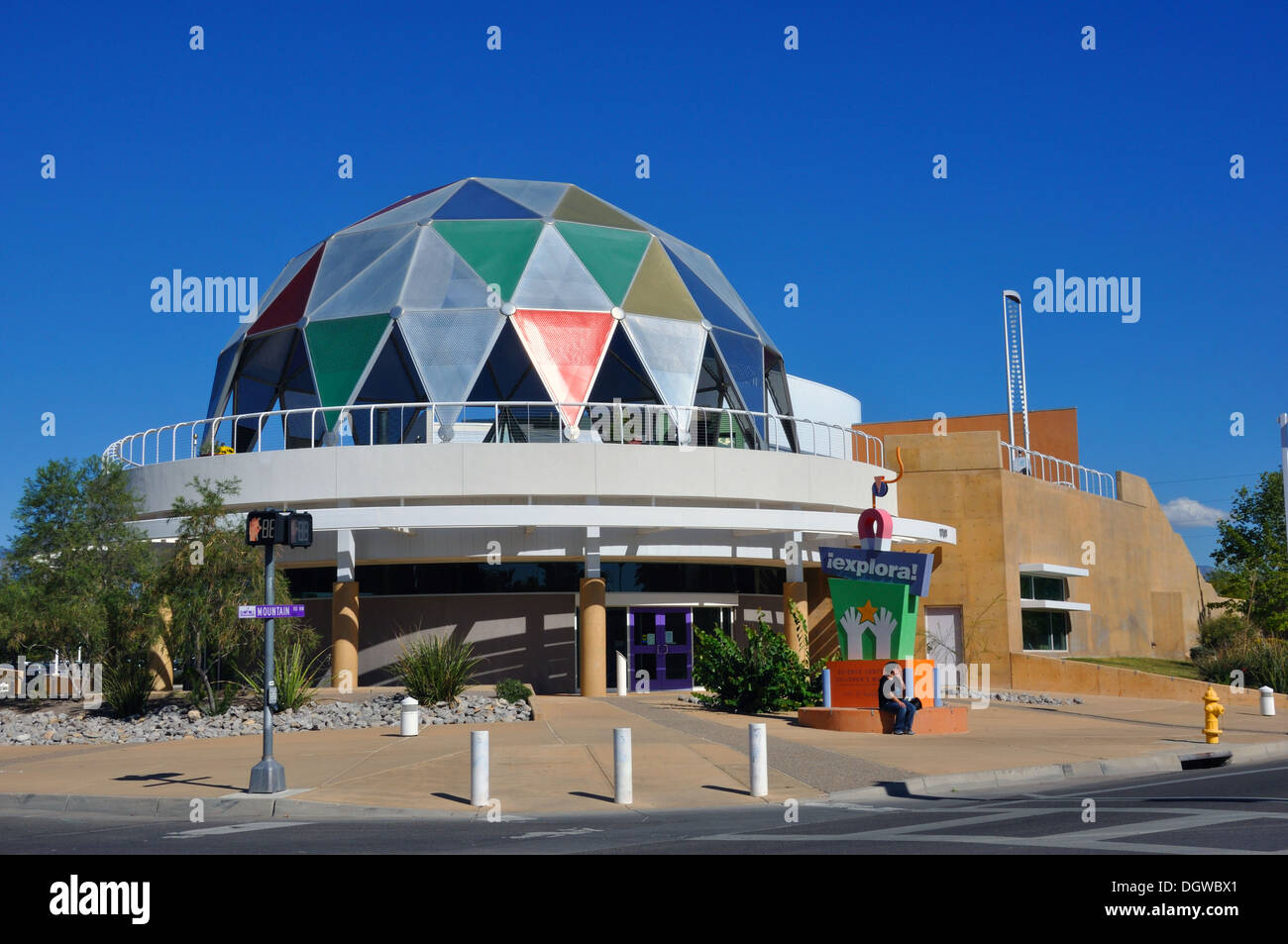 Explora Science Center and Children's Museum at the Museum of Natural History and Science, Albuquerque, New Mexico, USA - Stock Image
