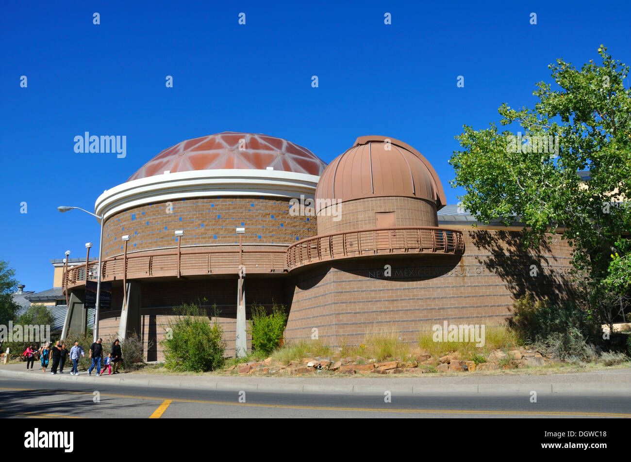 The Planetarium at the  Museum of Natural History and Science, Albuquerque, New Mexico, USA - Stock Image
