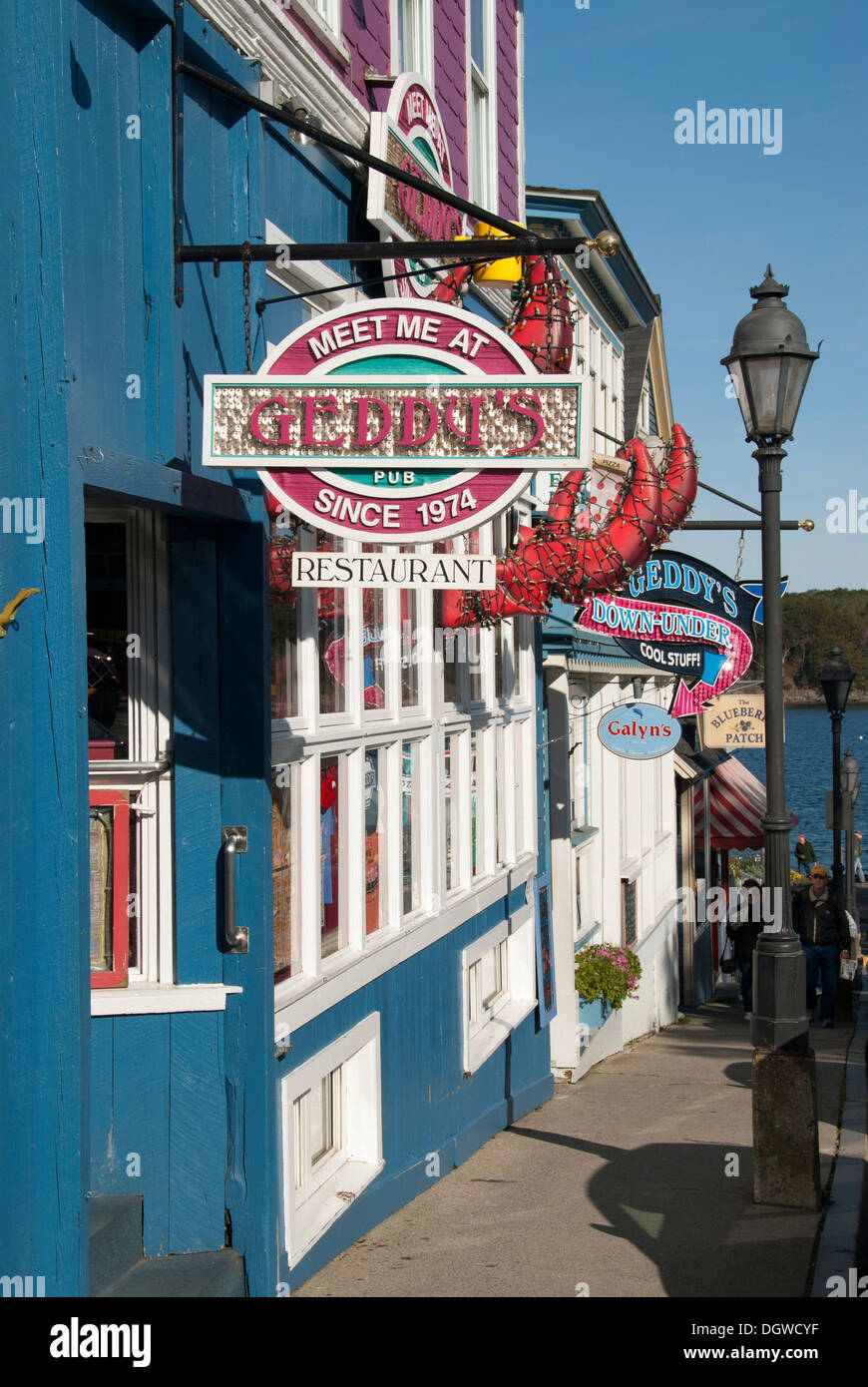 Geddy S Lobster Restaurant Bar Harbor Maine New England