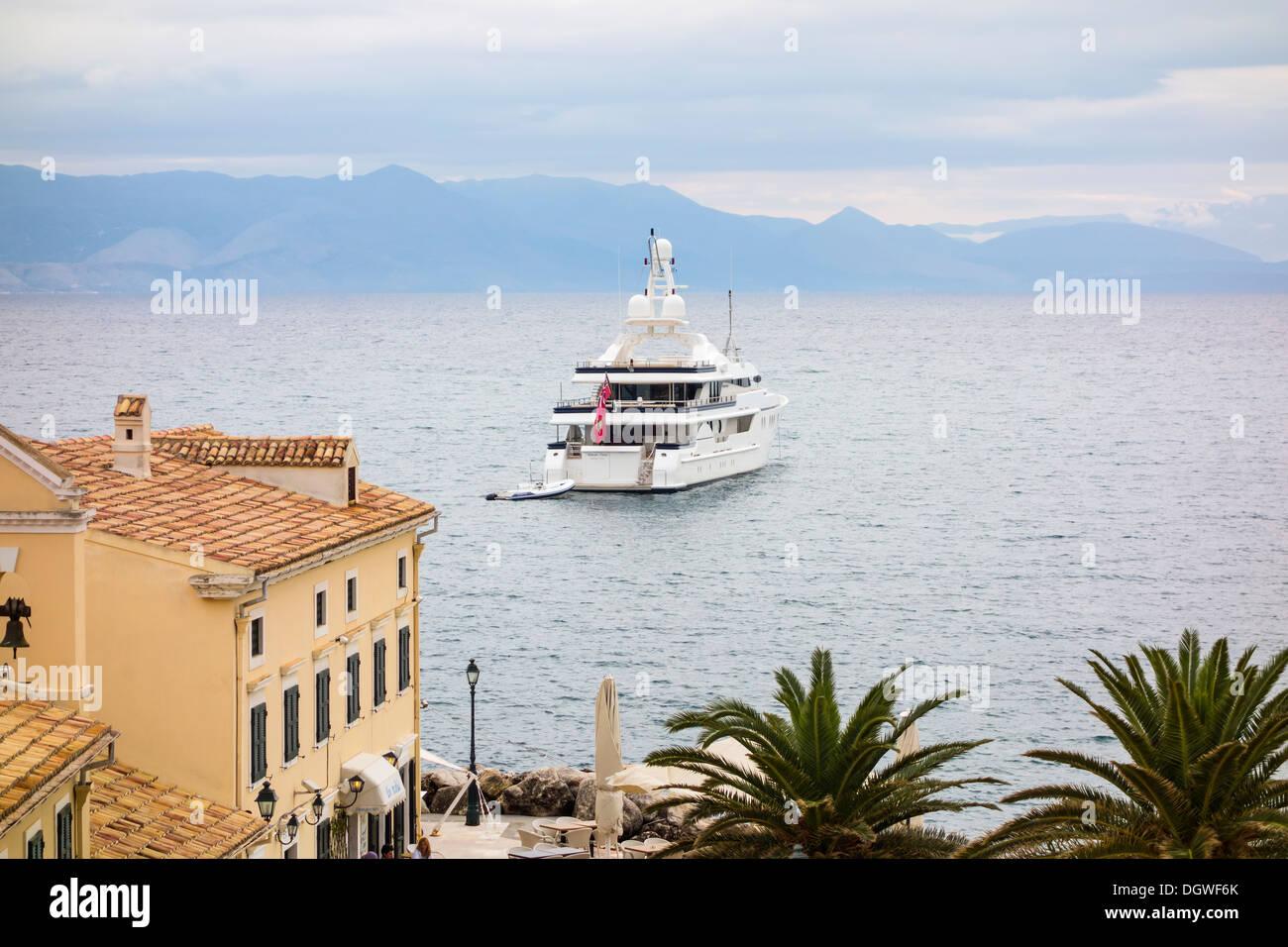 Deja Too - Old Town, Corfu Island, Ionian Islands, Greek Islands, Greece, Europe - Stock Image