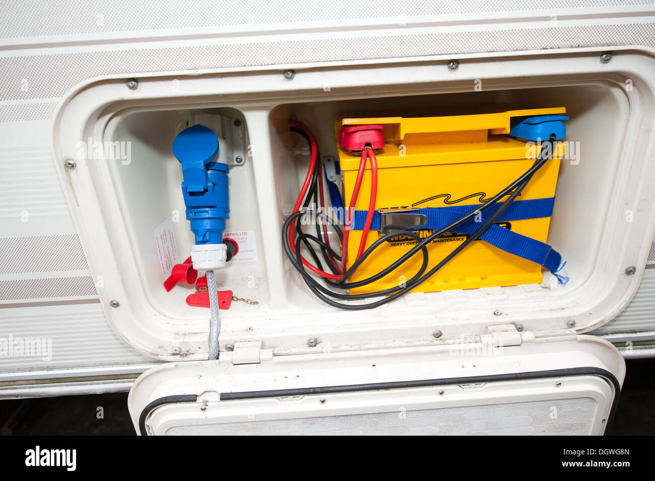 Caravan hook up electrical