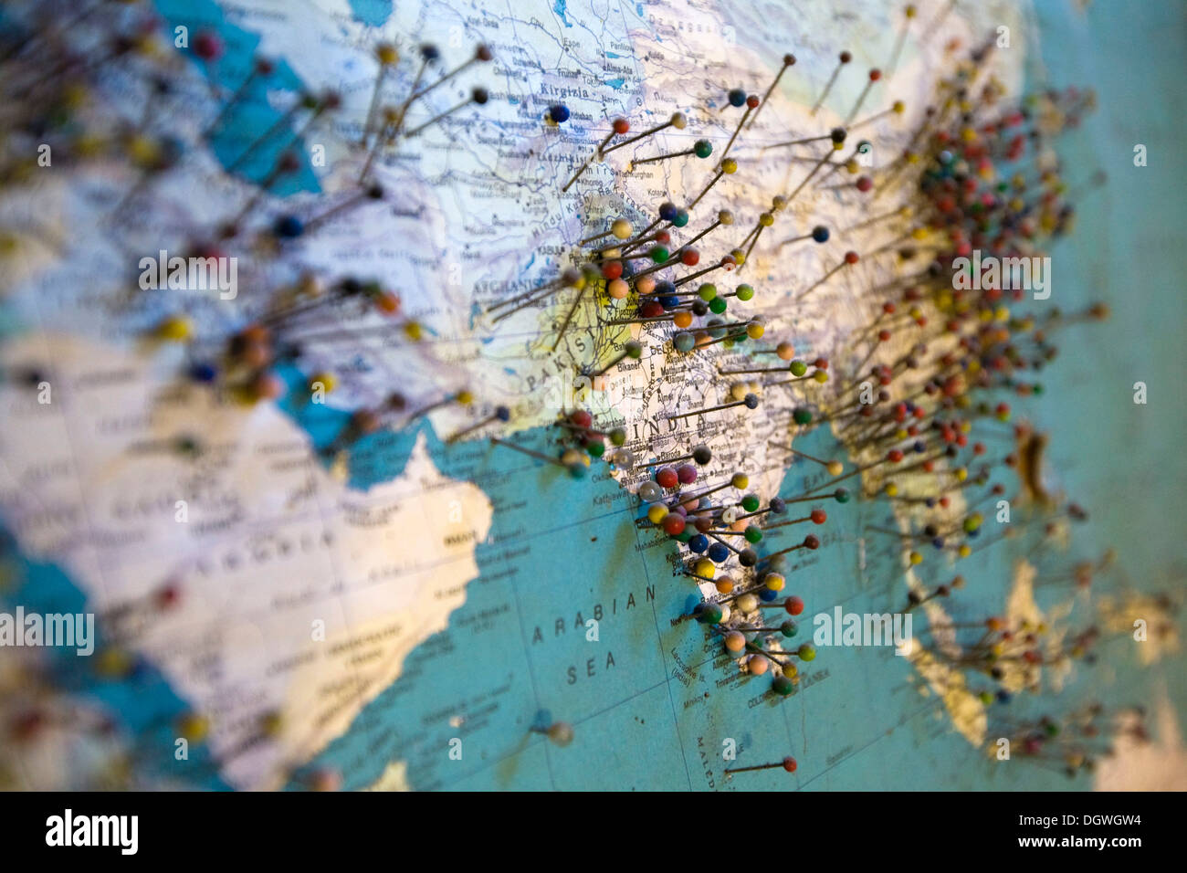 Hamburg germany world map on stock photos hamburg germany world visitors of the seemannsclub duckdalben sailors club have marked their home towns on a gumiabroncs Image collections