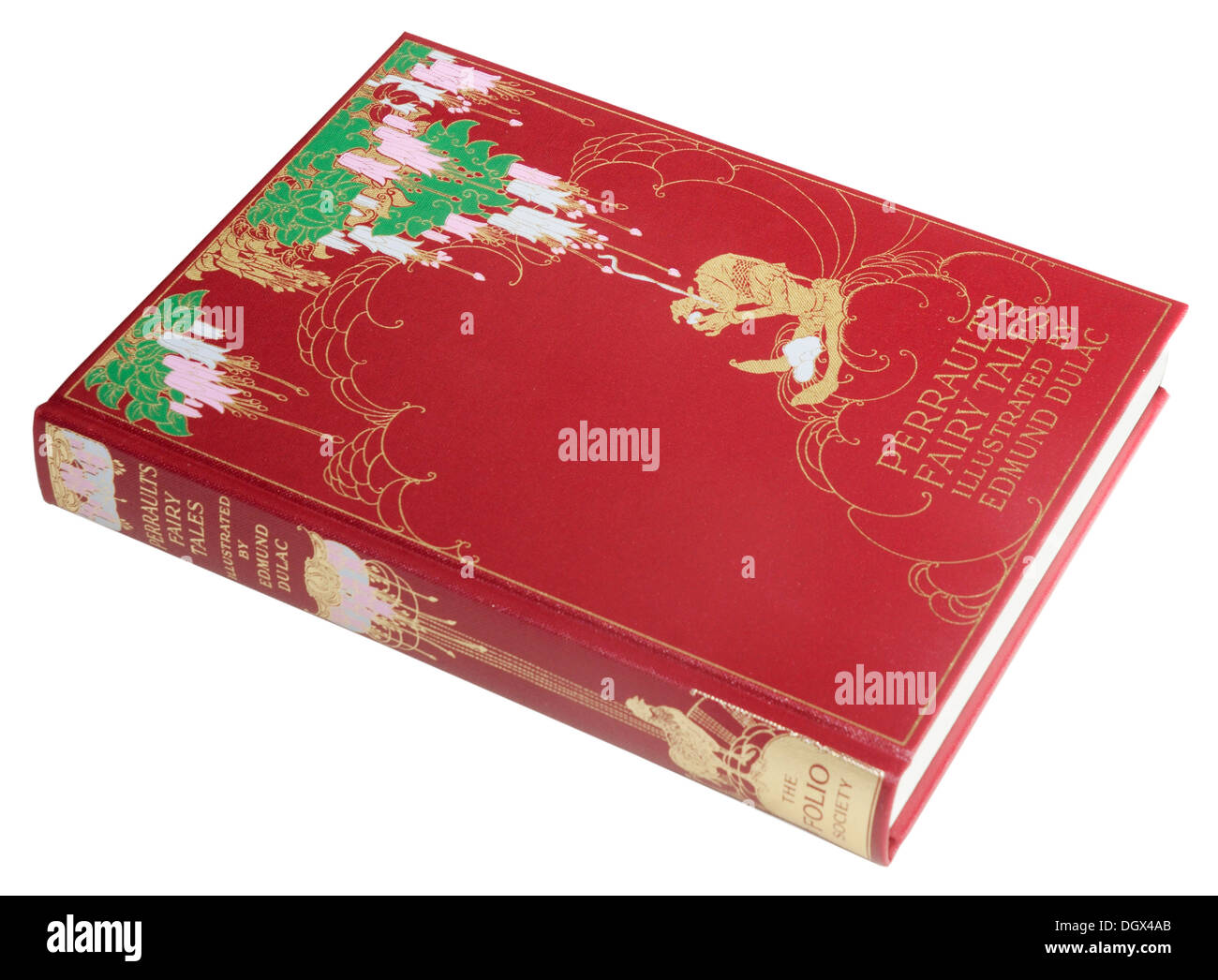 A Folio Society edition of Perrault's Fairy Tales - Stock Image