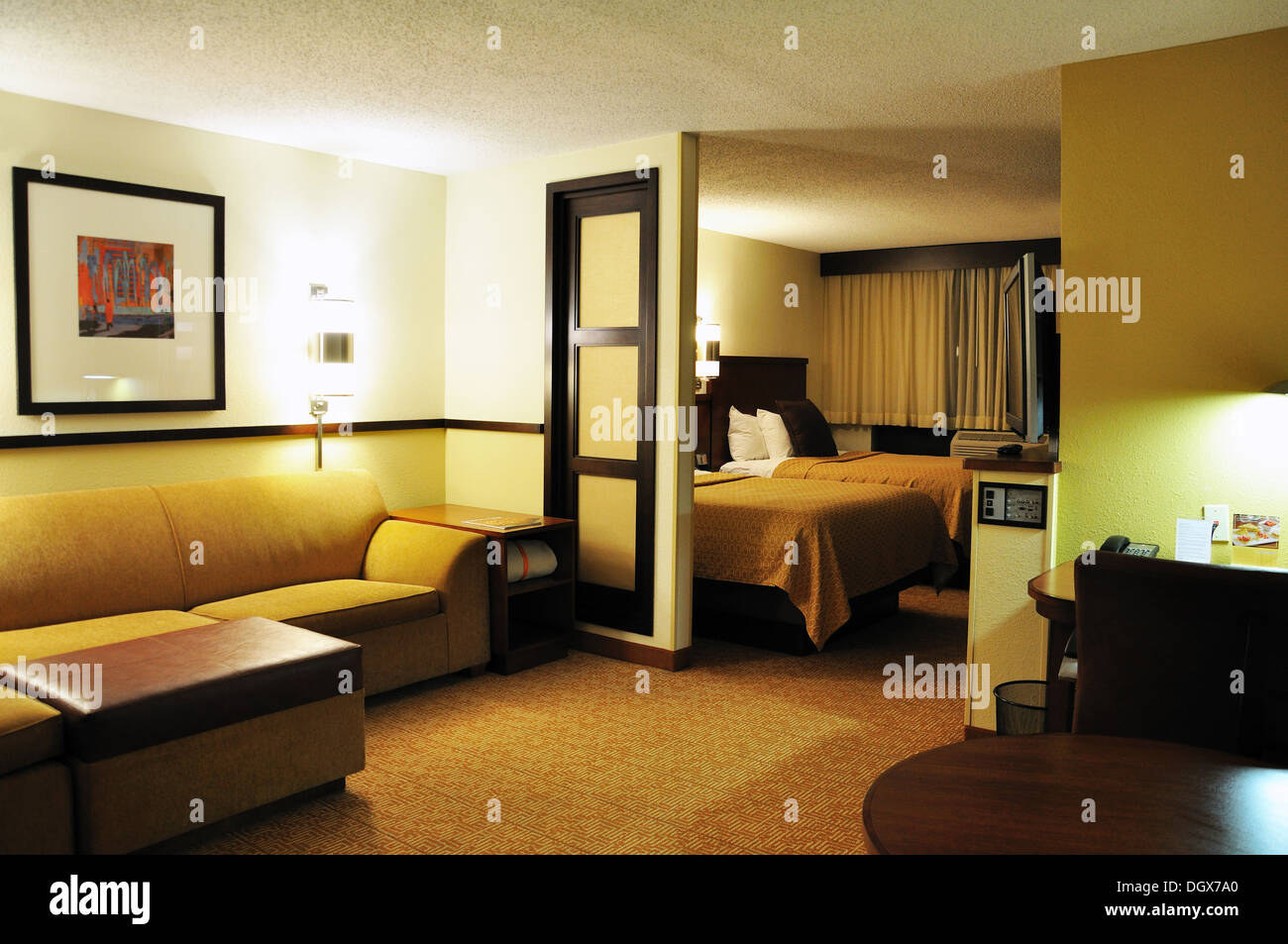 Suite In Hyatt Place Nashville / Franklin / Cool Springs, Tennessee, USA