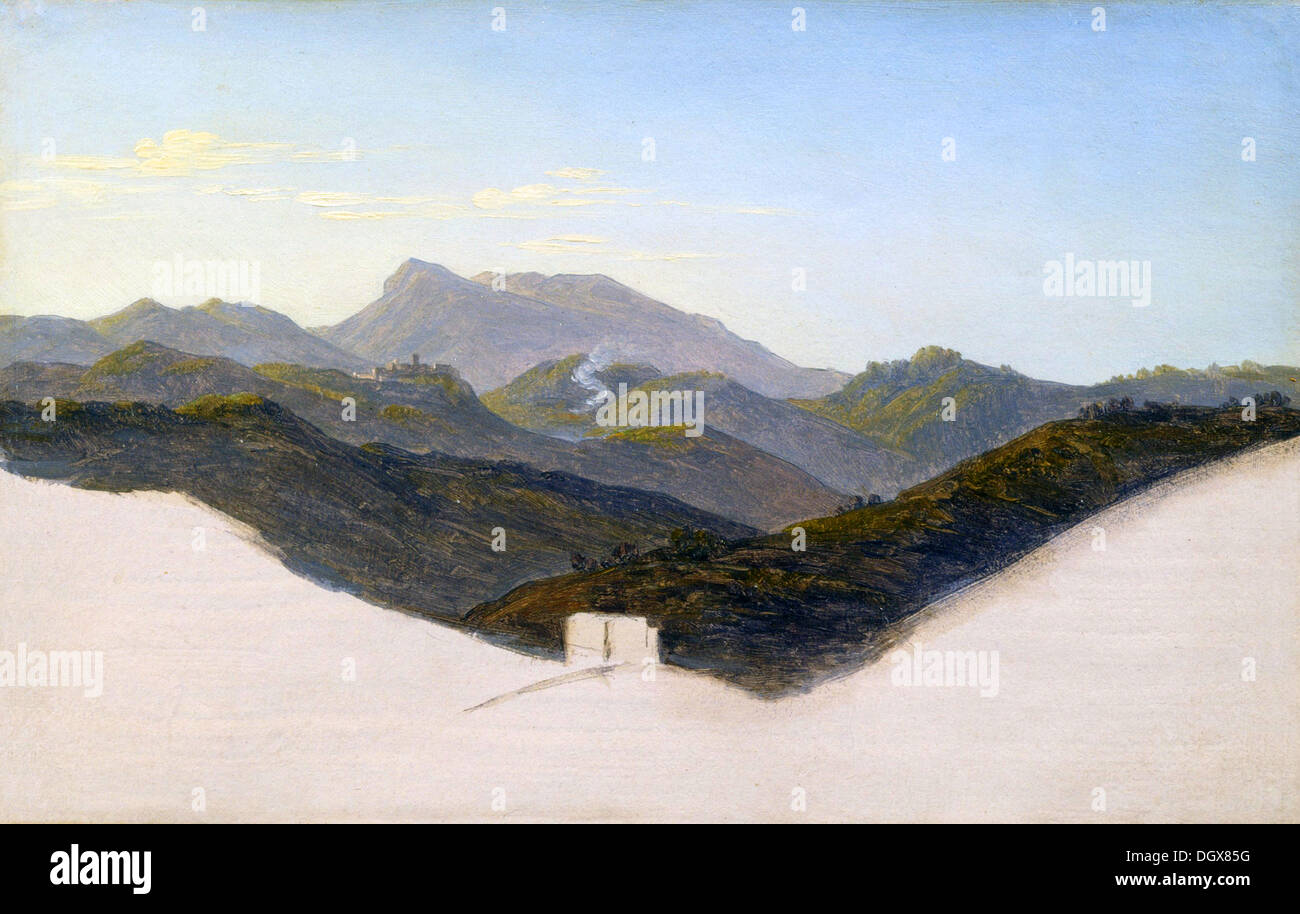 View of San Vito with Monte Guadagnolo in the Distance - by Heinrich  Reinhold 483dc2e6d
