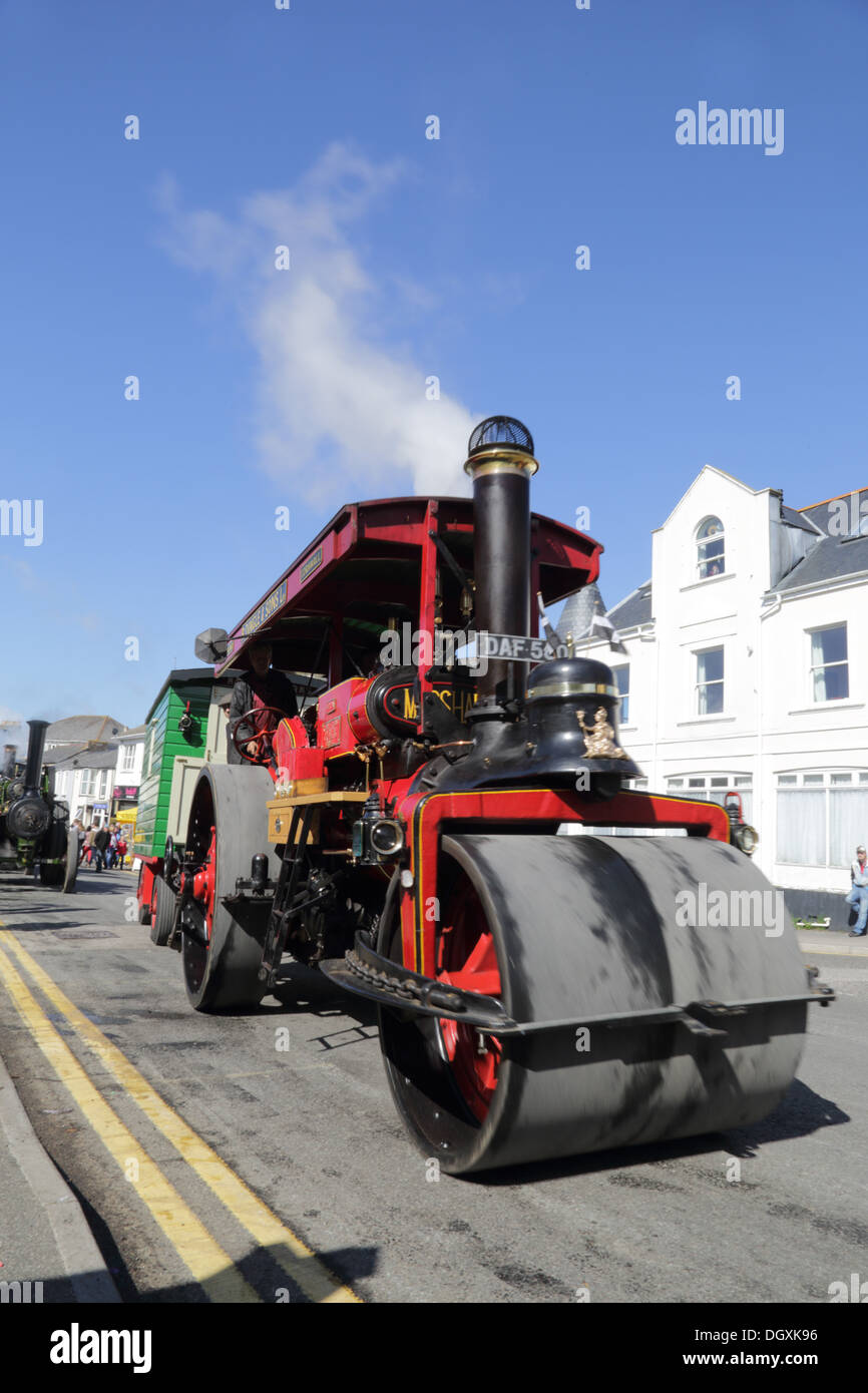 Trevithick Day; Camborne; Cornwall; Steam Engines - Stock Image