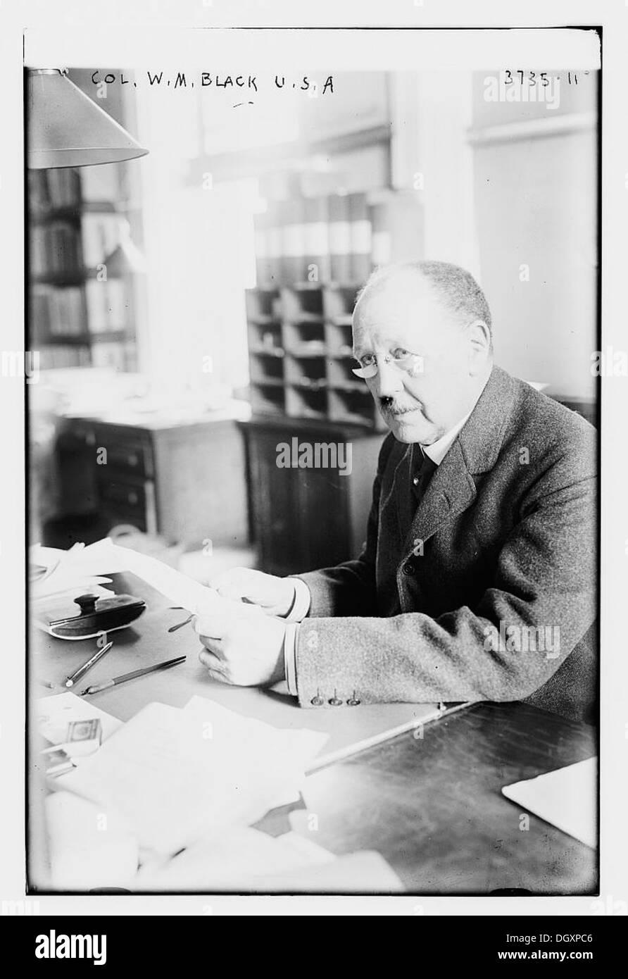 Col. W.M. Black U.S.A. (LOC) - Stock Image