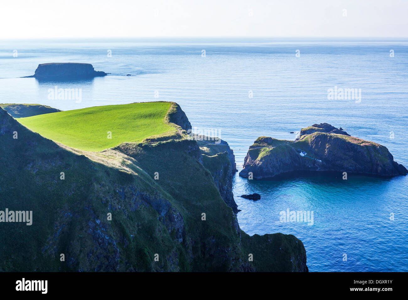 Carrick-a-Rede, Co. Antrim, Northern Ireland - Stock Image