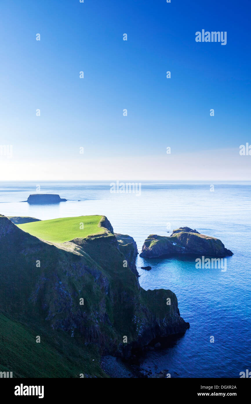 Carrick-a-Rede, Co. Antrim, Northern Ireland Stock Photo