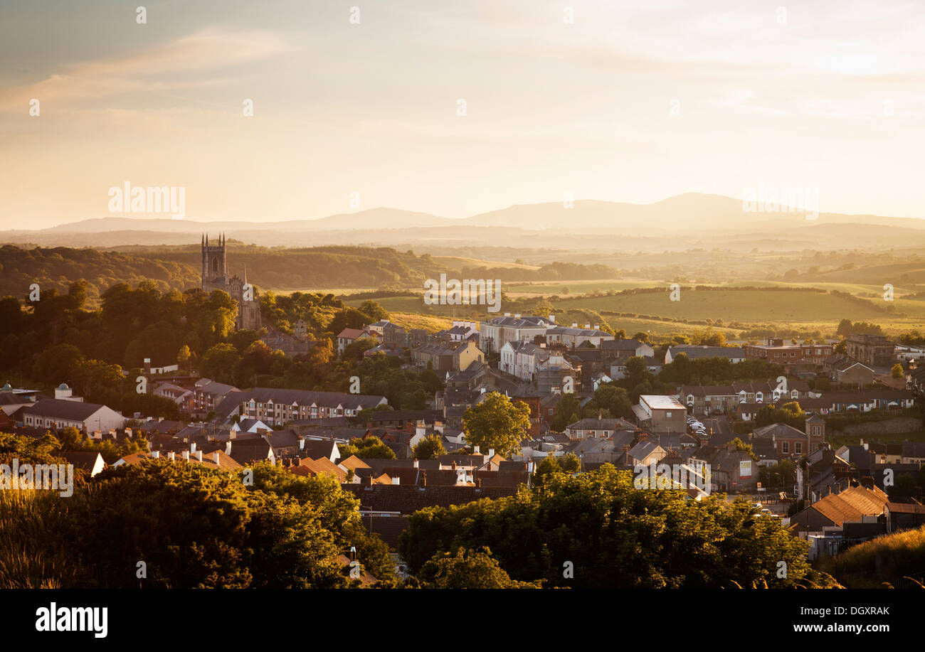 Downpatrick, County Down, Northern Ireland - Stock Image