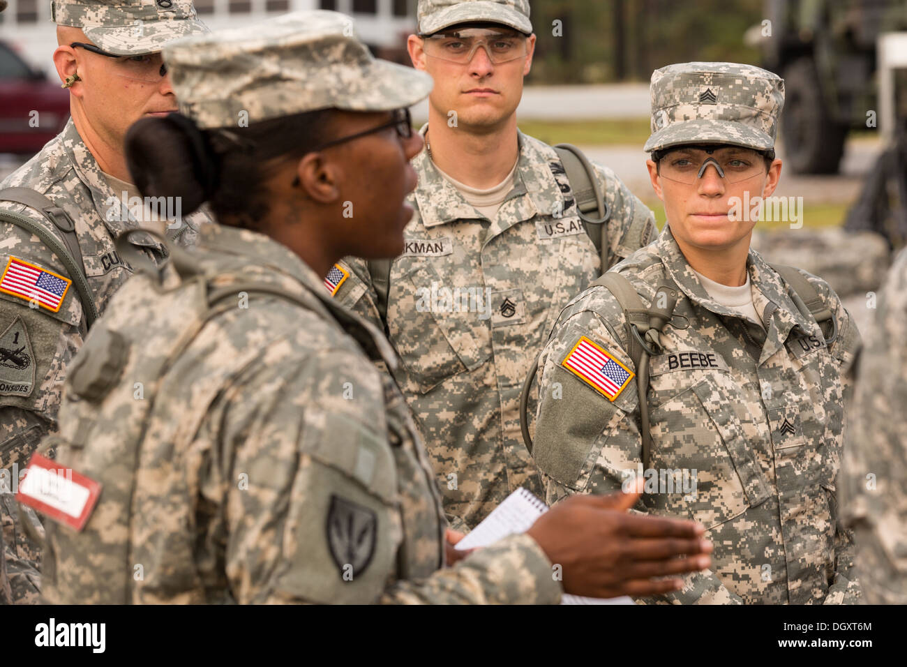 female drill sergeant essay This shows to be a brutal and depressing experience inflicted by the sadistic drill sergeant, gunnery sergeant hartman (lee ermey), who was a real drill sergeant for the marine corps, drafted in by kubrick.