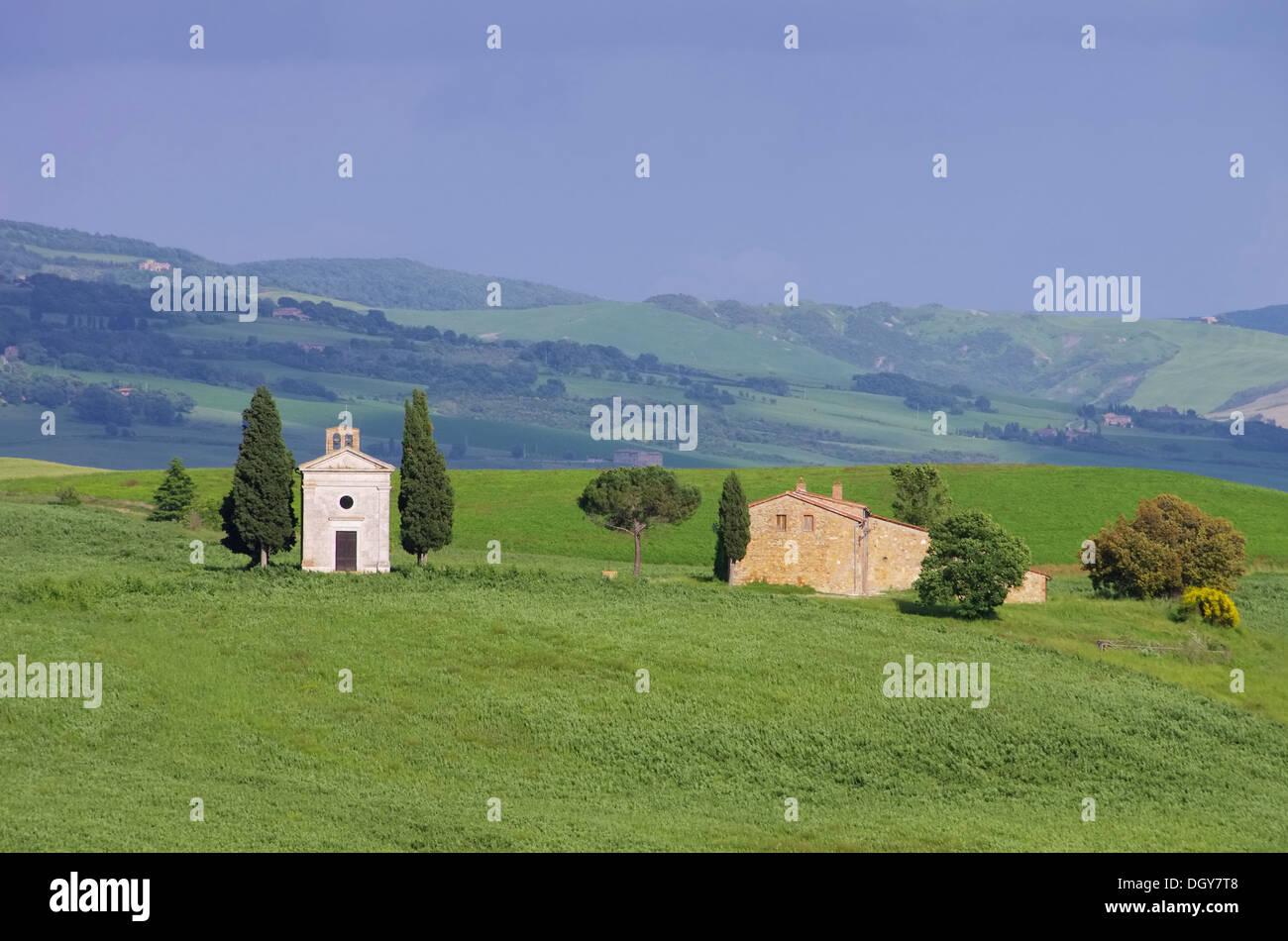Toskana Kapelle - Tuscany chapel 13 - Stock Image