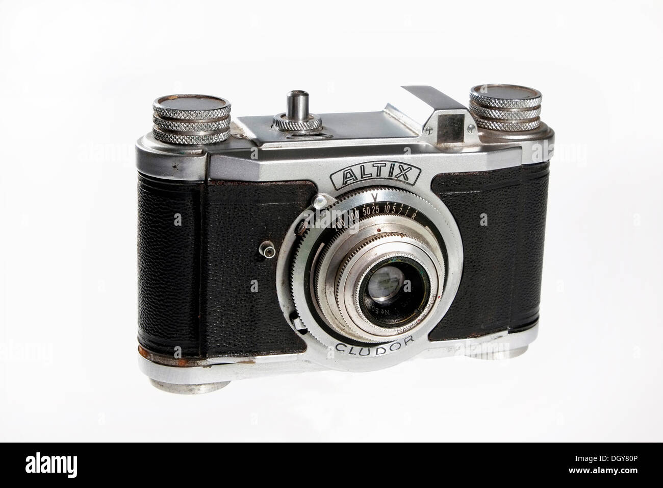 Historical Altix camera, 35mm film, GDR - Stock Image