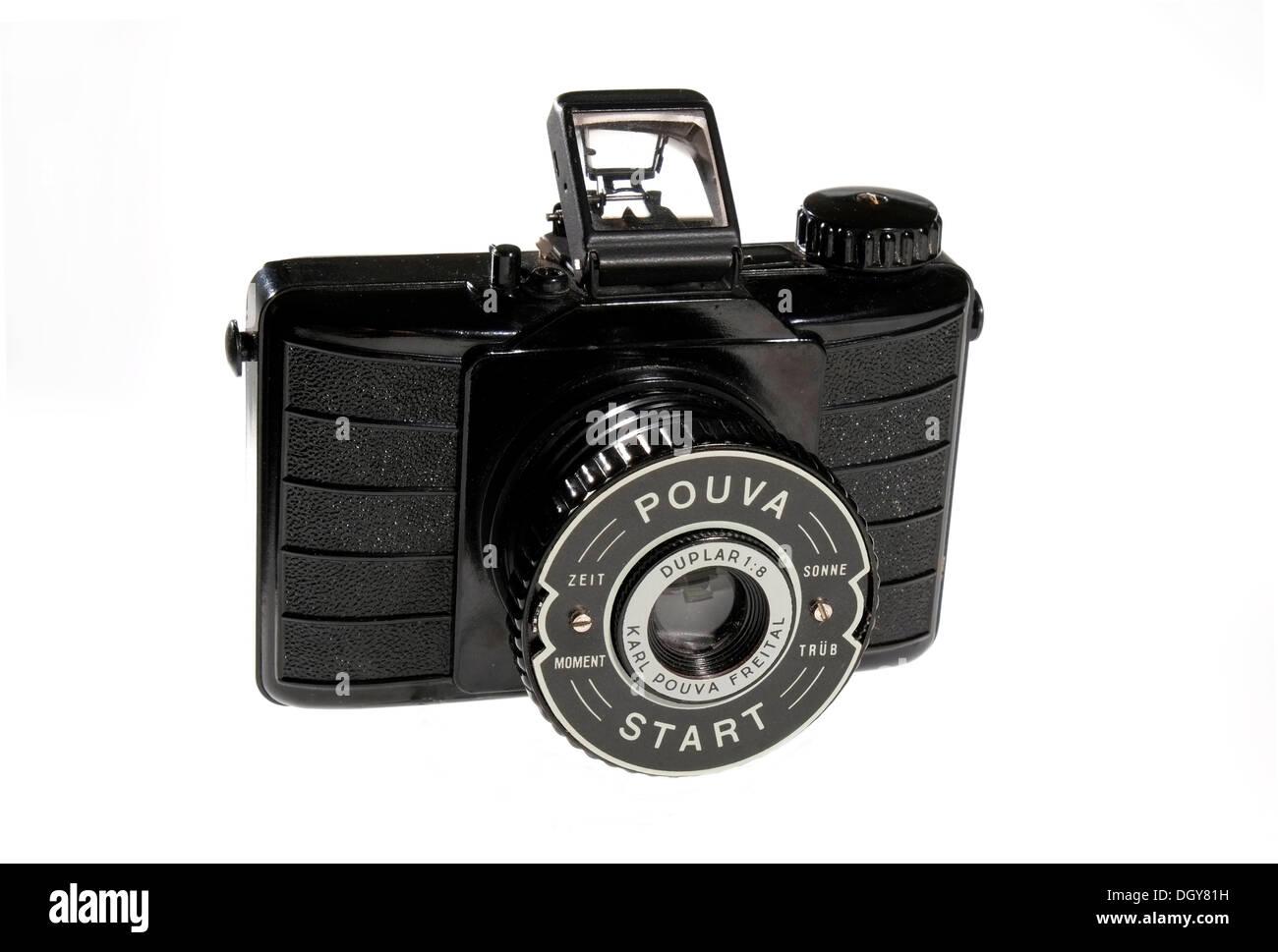 DDR cult camera, Pouva Start, roll film camera 6x6 - Stock Image