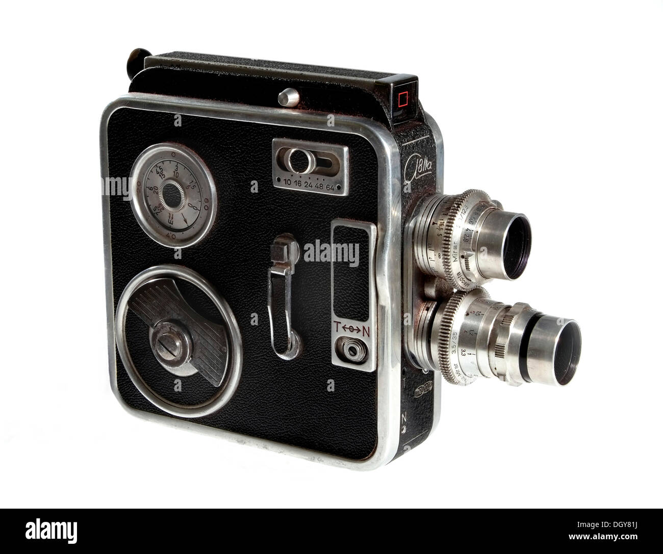 Meopta A8IIa, 8mm cine camera, CSSR - Stock Image