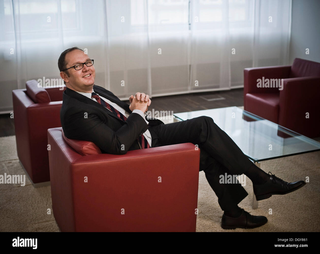 Harald Christ, entrepreneur, financial investor, treasurer of the SPD, Berlin - Stock Image