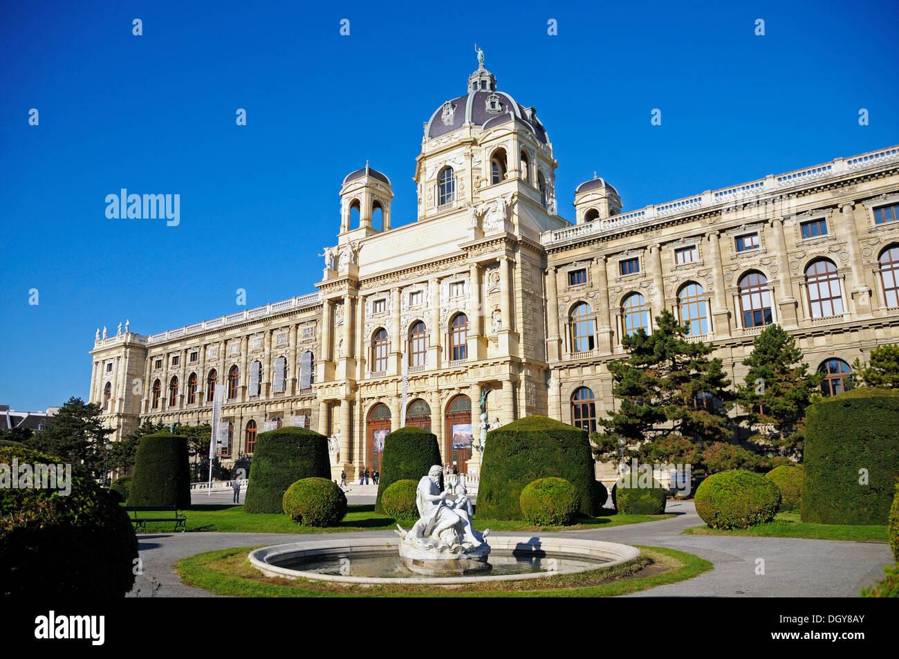 Natural History Museum, Vienna, Austria, Europe - Stock Image