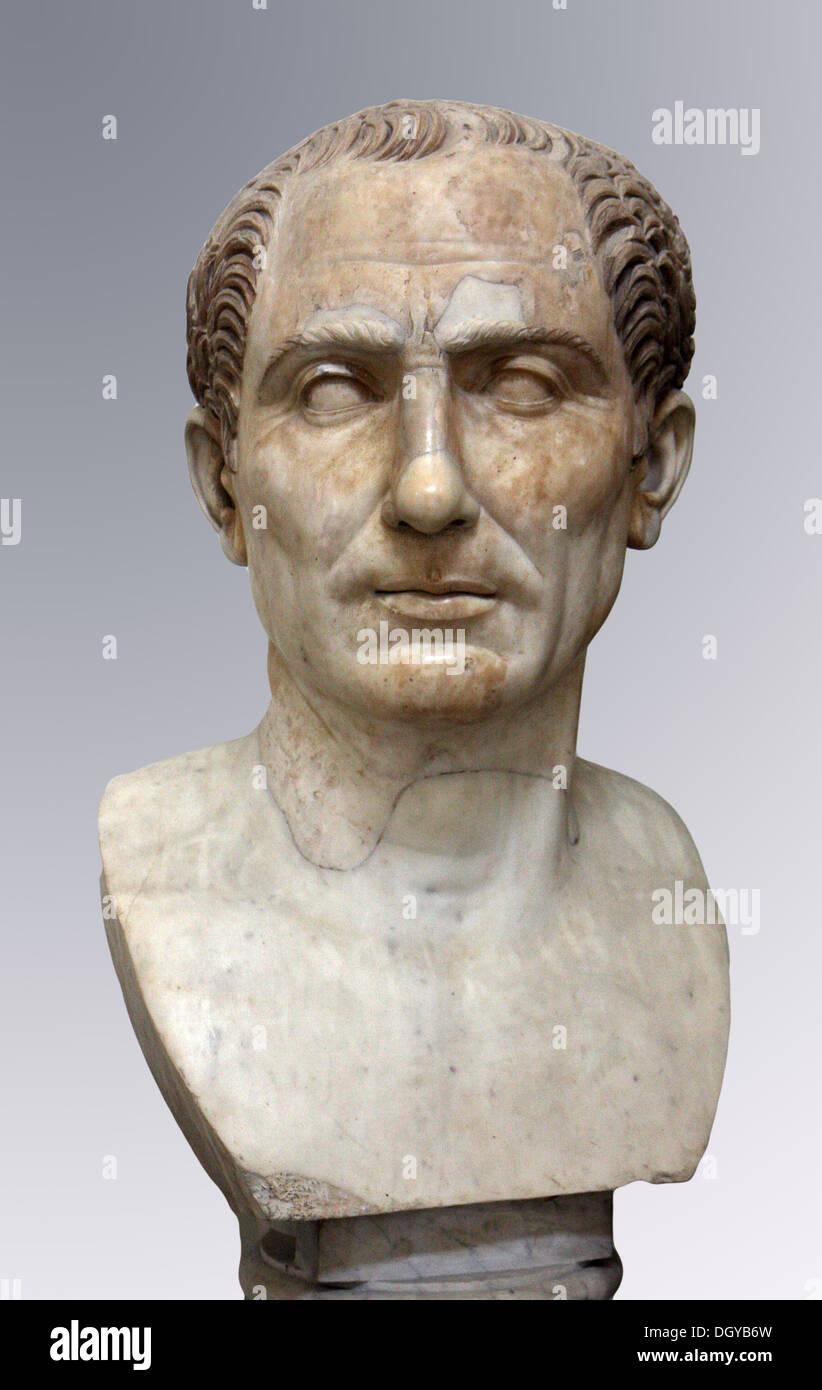 5584. Gaius Julius Caesar born July 100 BC, assassinated March 44 BC. - Stock Image
