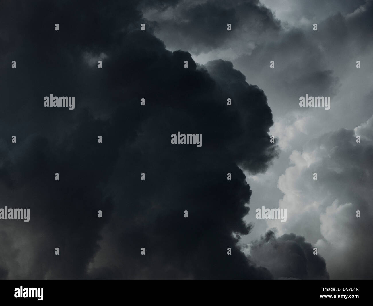 A dramatic cloudscape - Stock Image