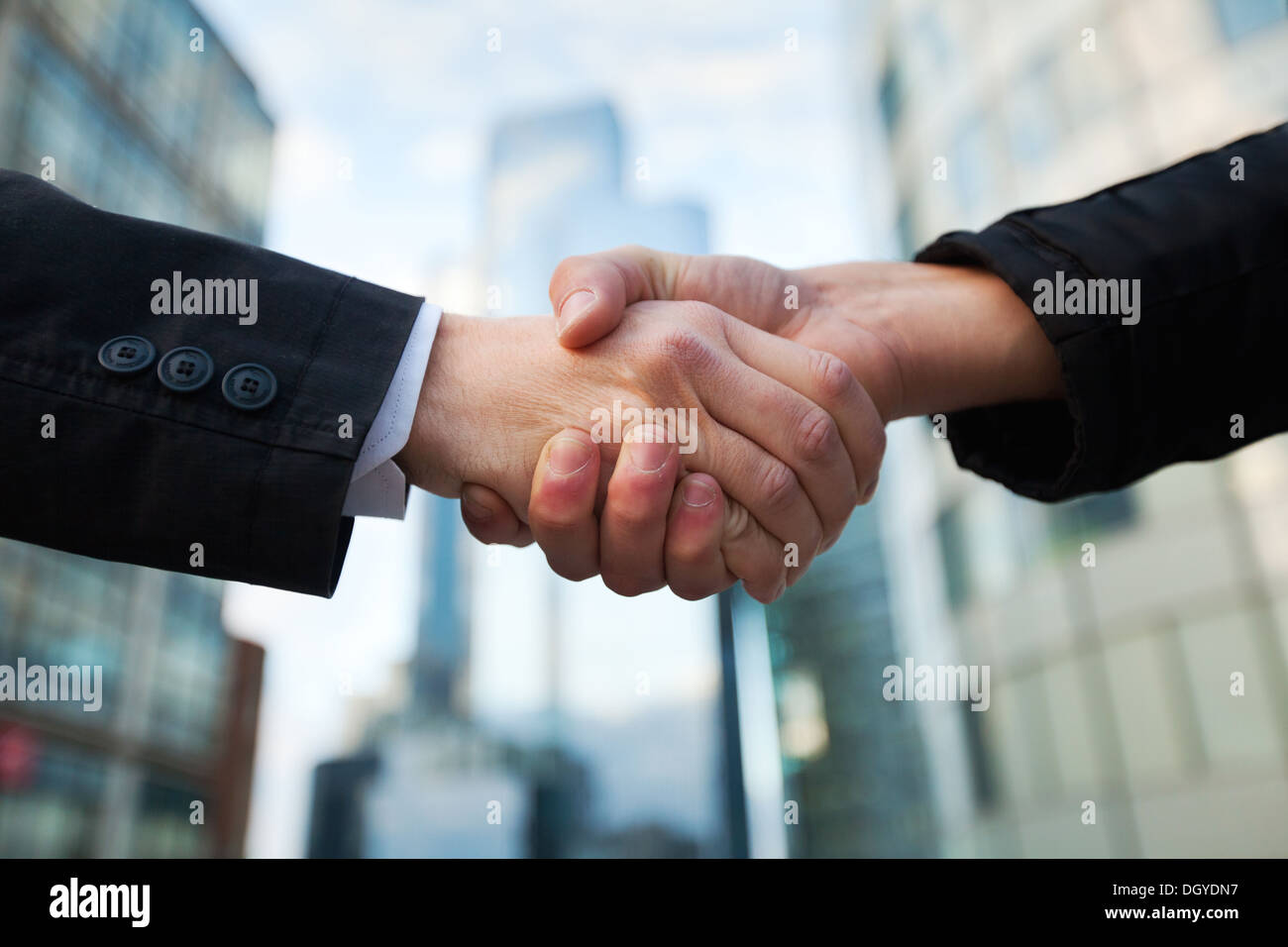 Business deal - Stock Image