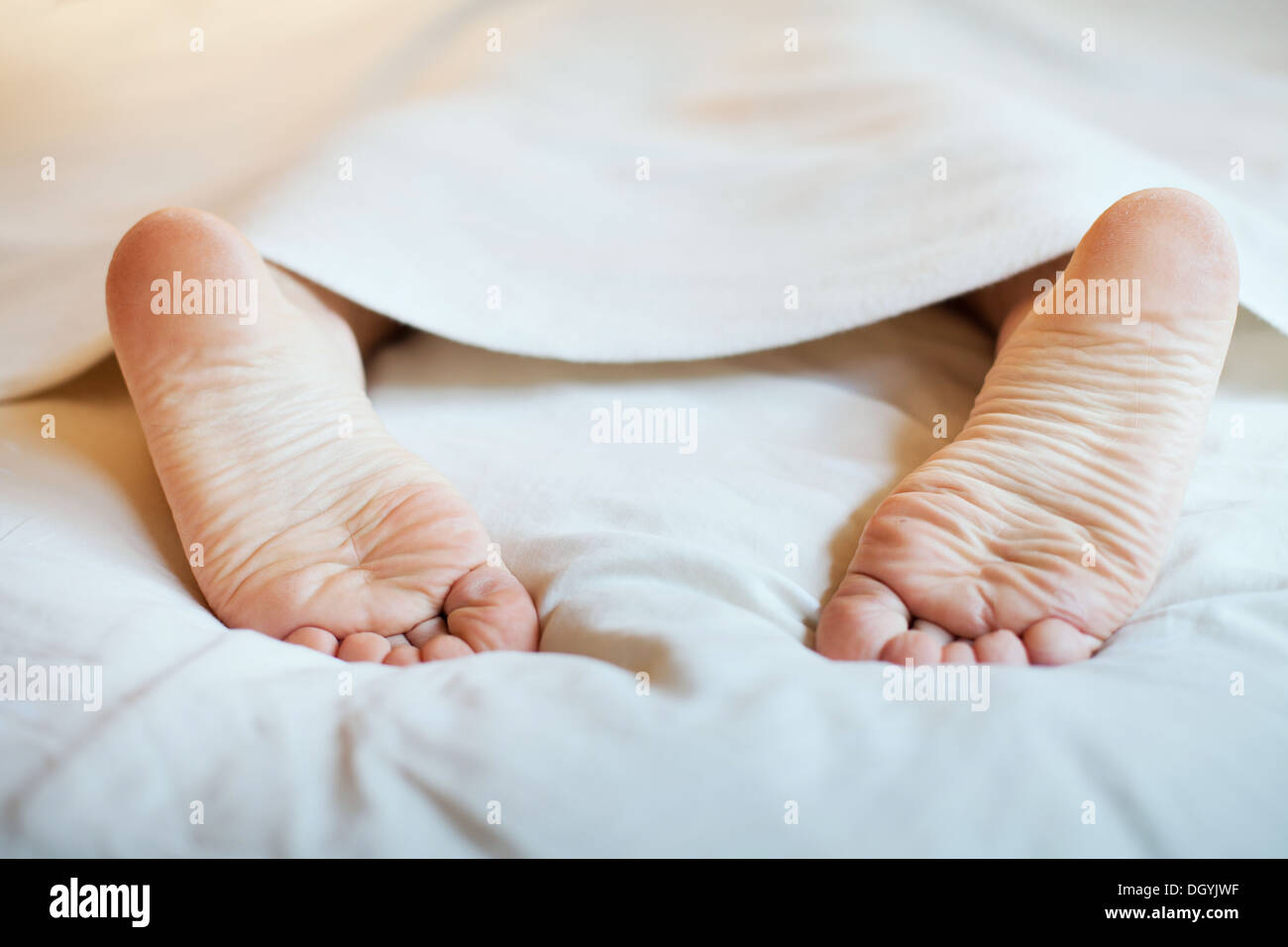 laziness and sleep - Stock Image