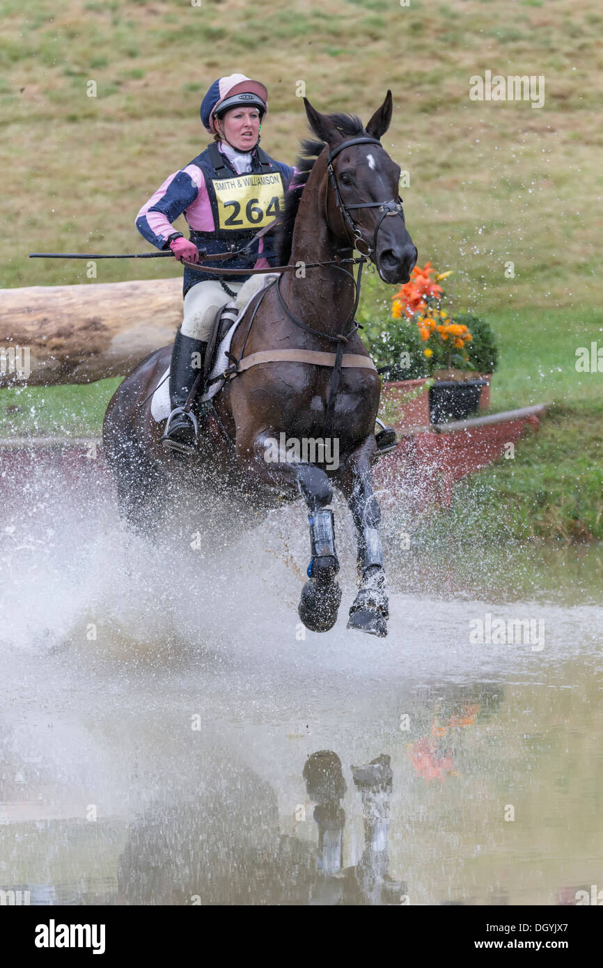 Nana Dalton on Absolut Opposition at FBE 2013, Gatcombe Park - Stock Image
