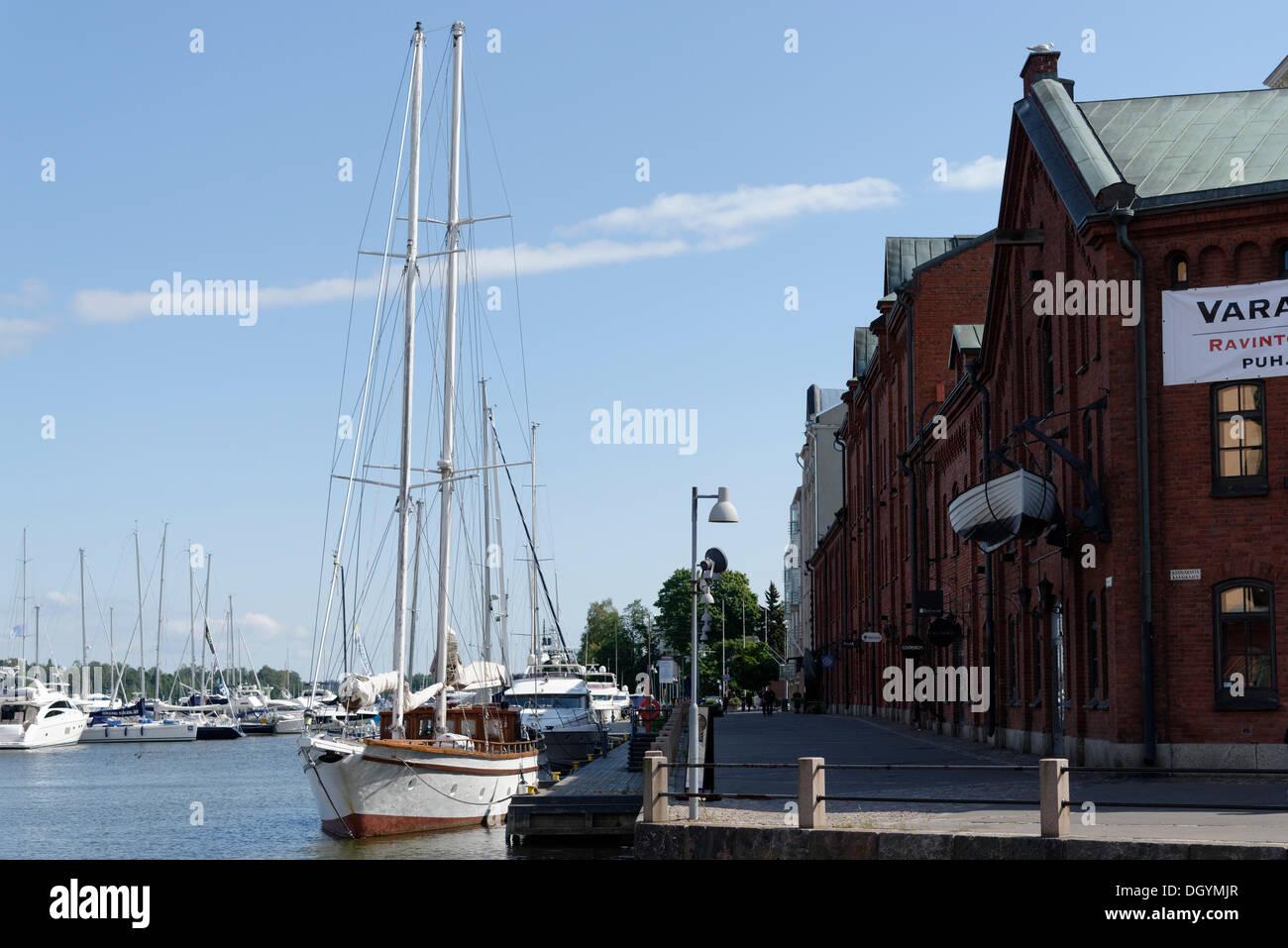 Port, Helsinki, Uusimaa, Finland - Stock Image