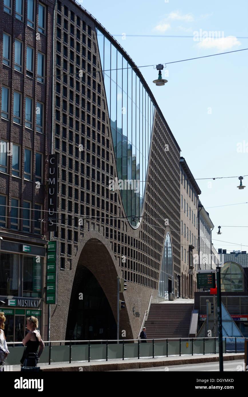 Kaisaniemenkatu street, Helsinki, Uusimaa, Finland - Stock Image