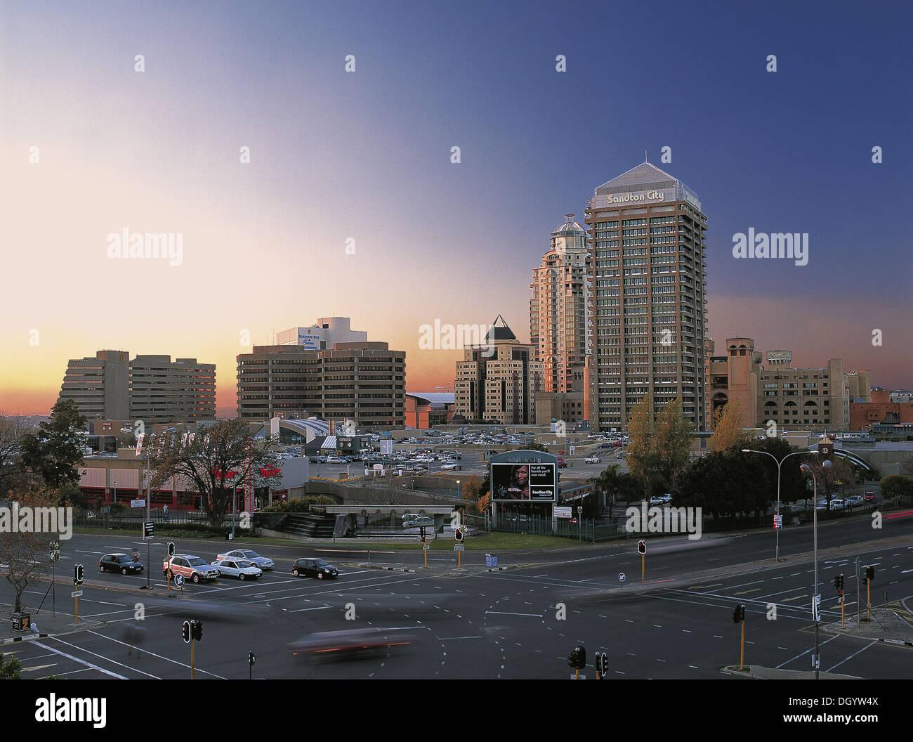Sandton City, Gauteng, Sout Africa - Stock Image