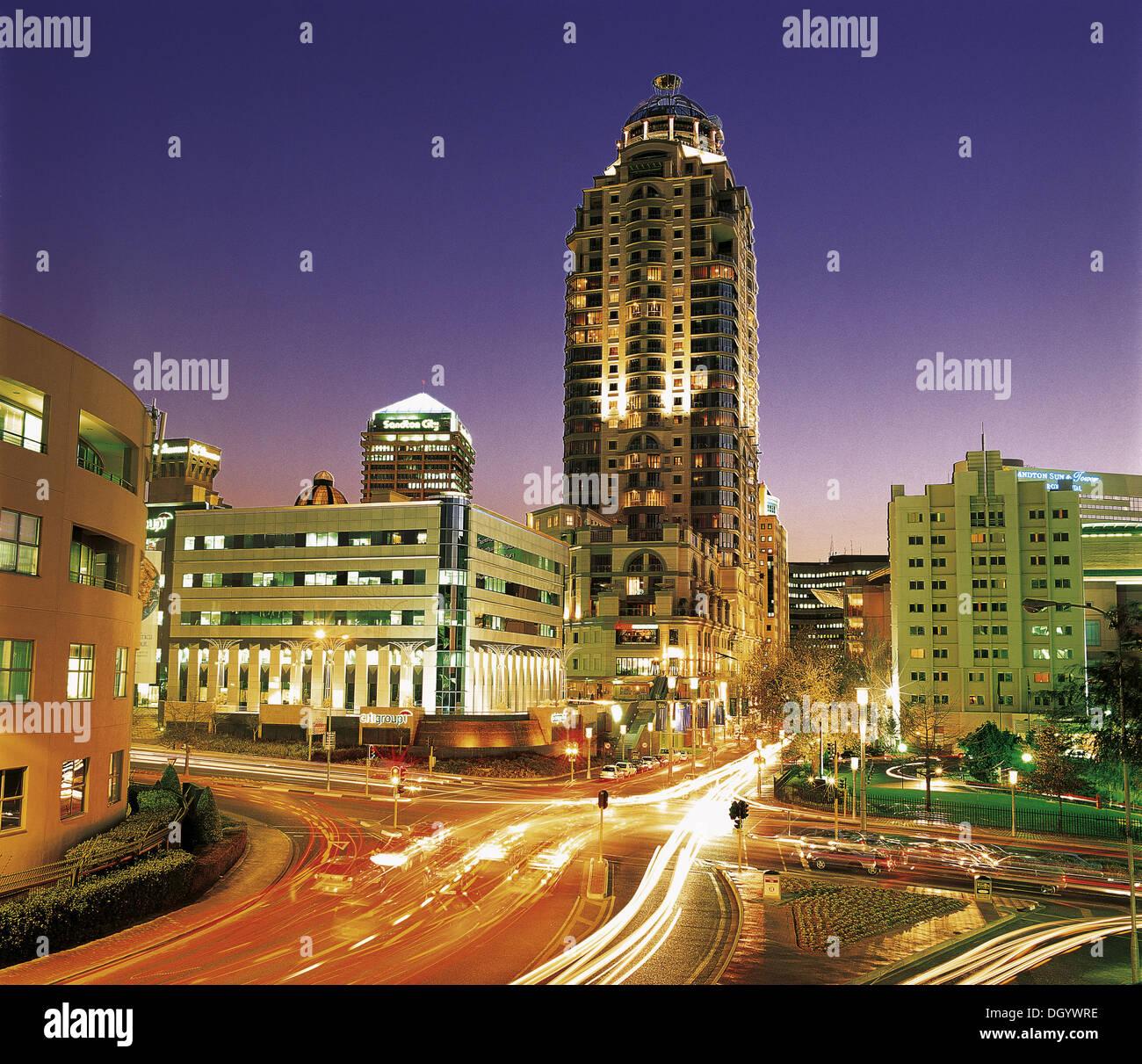 Sandton, Gauteng, Sout Africa - Stock Image