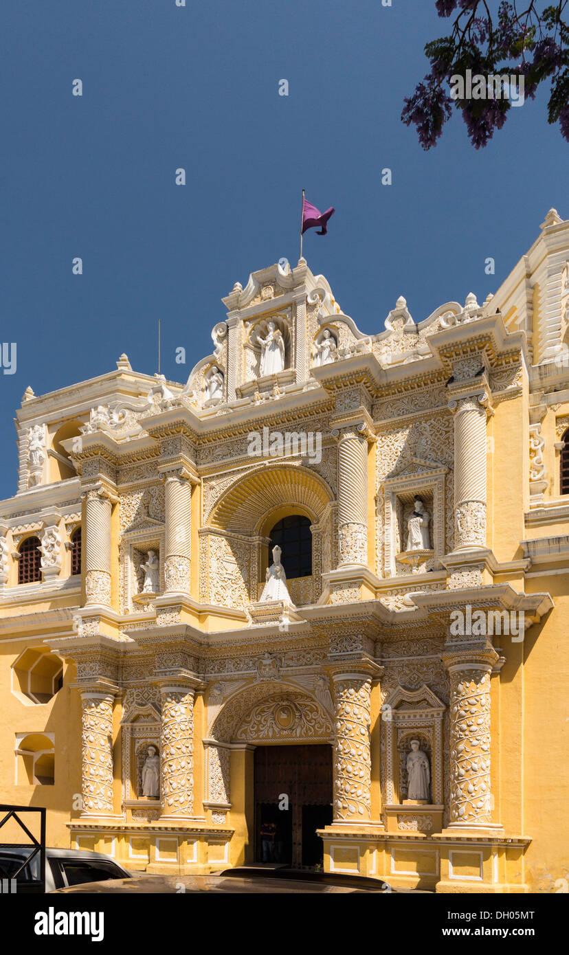 Saint Joseph Cathedral / Catedral de San José in Antigua Guatemala, Guatemala, Central America - Stock Image