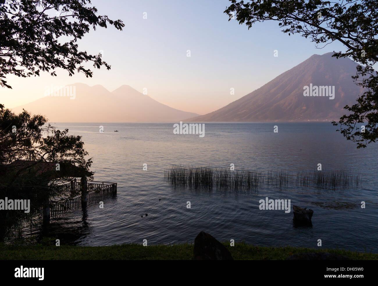 Lake Atitlan, Guatemala - Stock Image