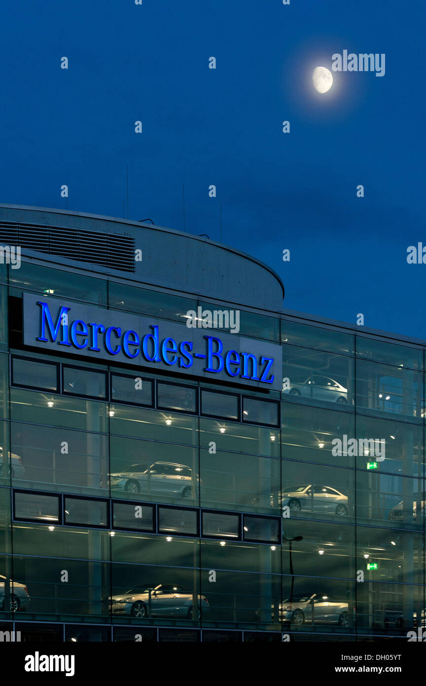 Mercedes-Benz Centre, Munich, Upper Bavaria, Bavaria, Germany Stock Photo