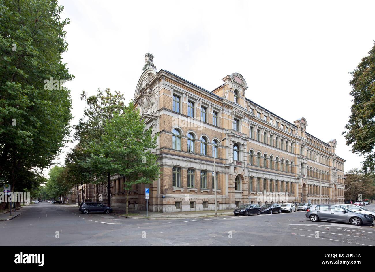 Leipzig University of Applied Sciences, Leipzig, Saxony, PublicGround - Stock Image