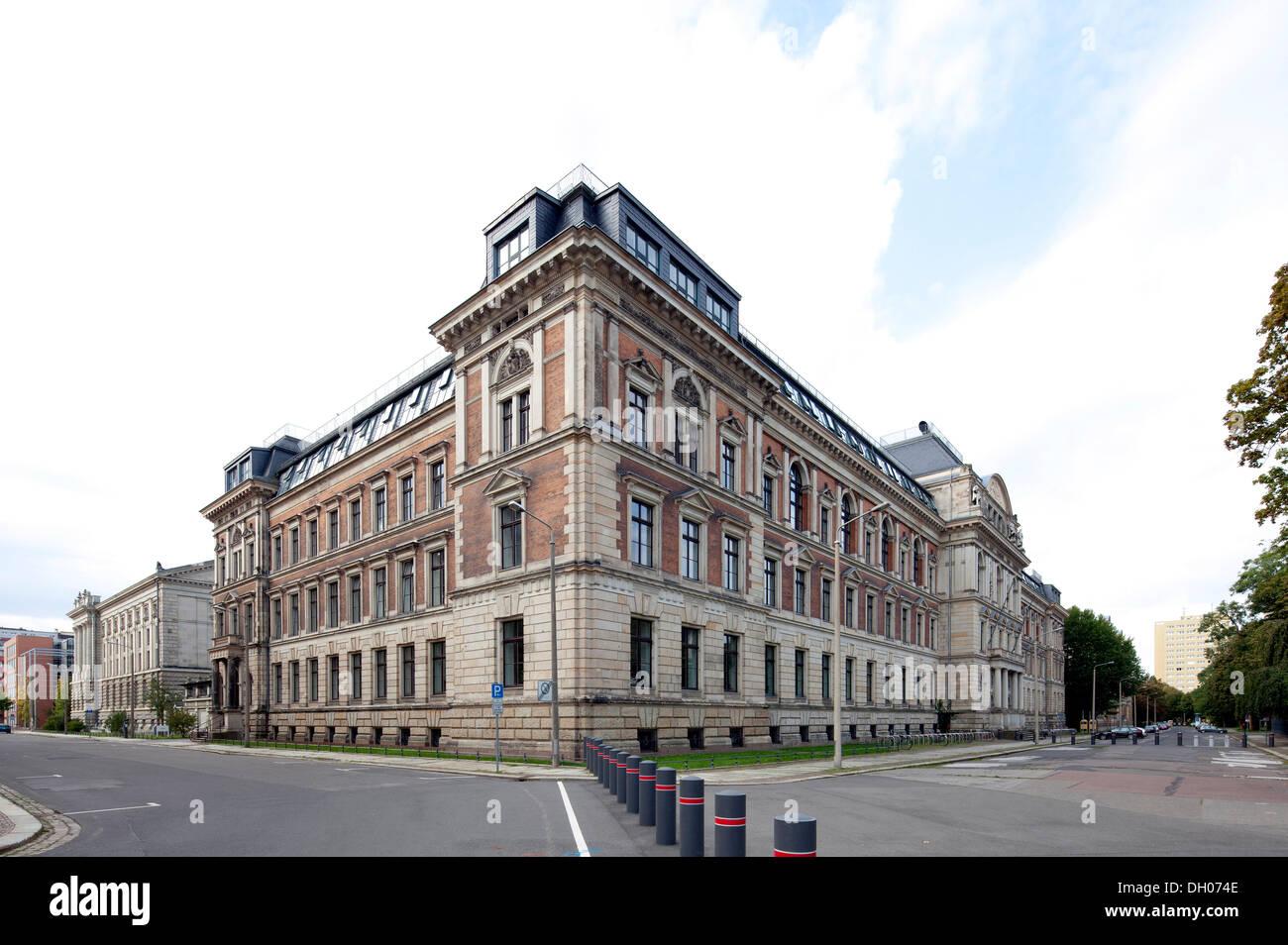 Academy of Visual Arts, Leipzig, Saxony, PublicGround - Stock Image
