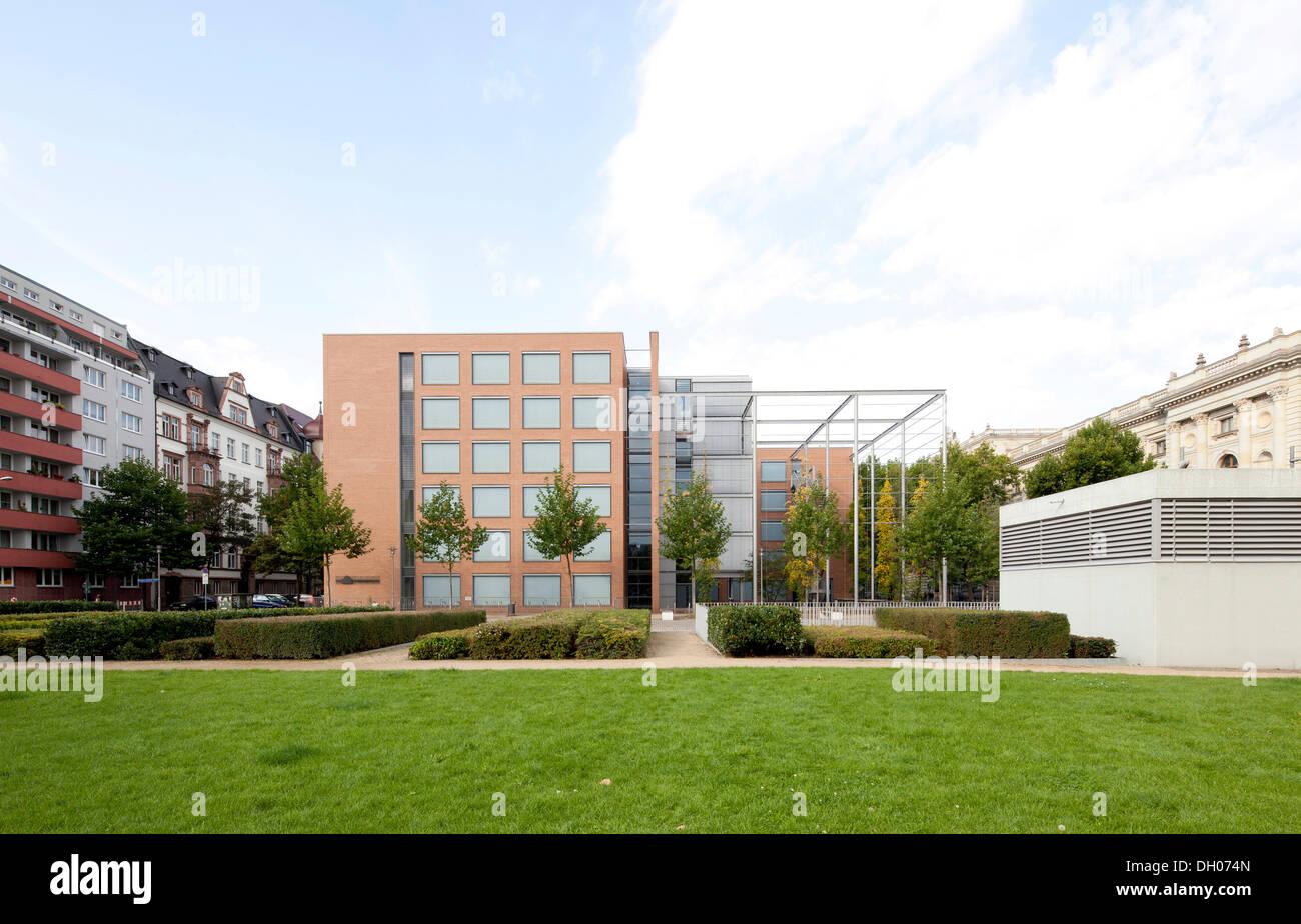 Leipzig University, faculty of humane sciences, Leipzig, Saxony, PublicGround - Stock Image