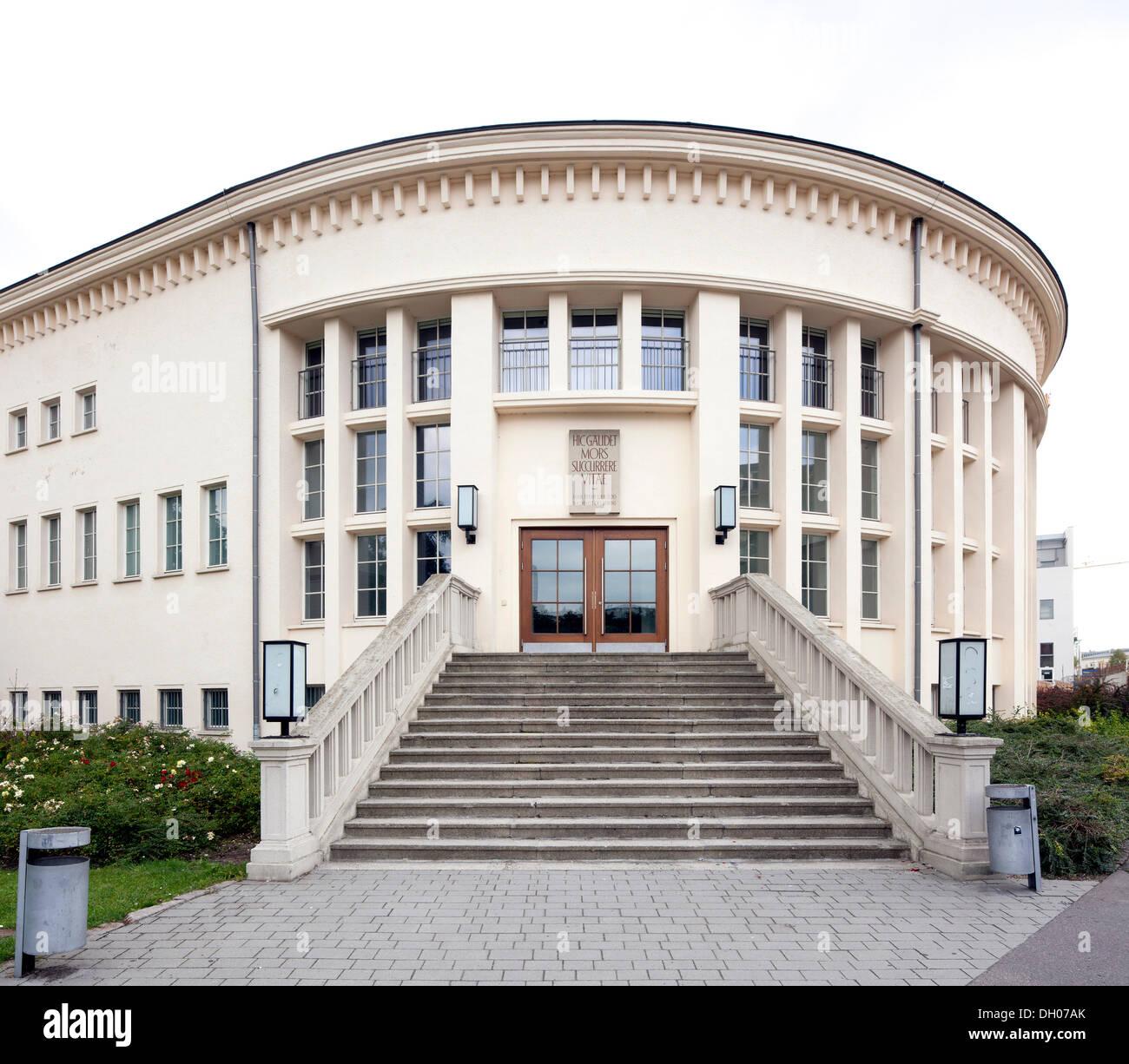 University of Leipzig, Department of Anatomy, Leipzig, Saxony Stock ...