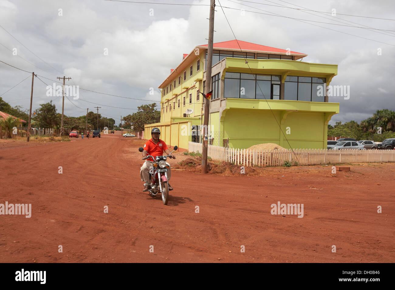 street scenes in Letham, Guyana, South America - Stock Image