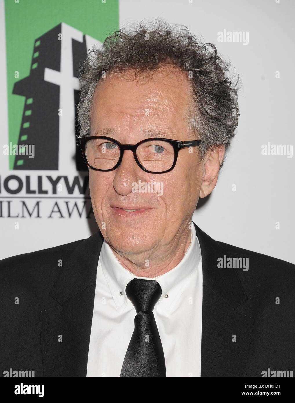 GEOFFREY RUSH Australian film actor in October 2013. Photo Jeffrey Mayer - Stock Image