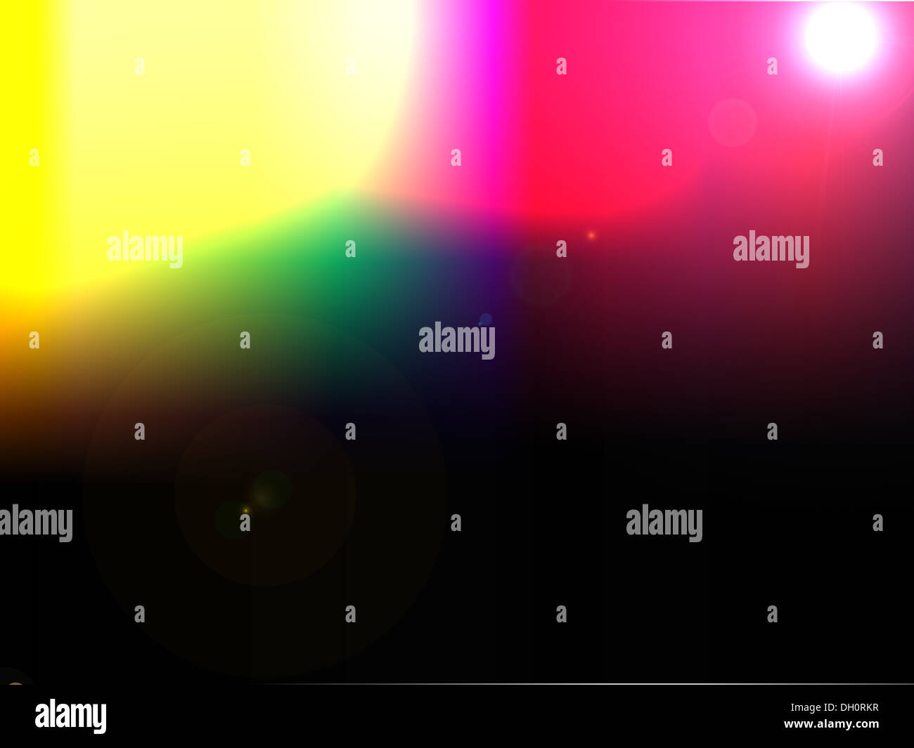 The transfusion of color - Stock Image