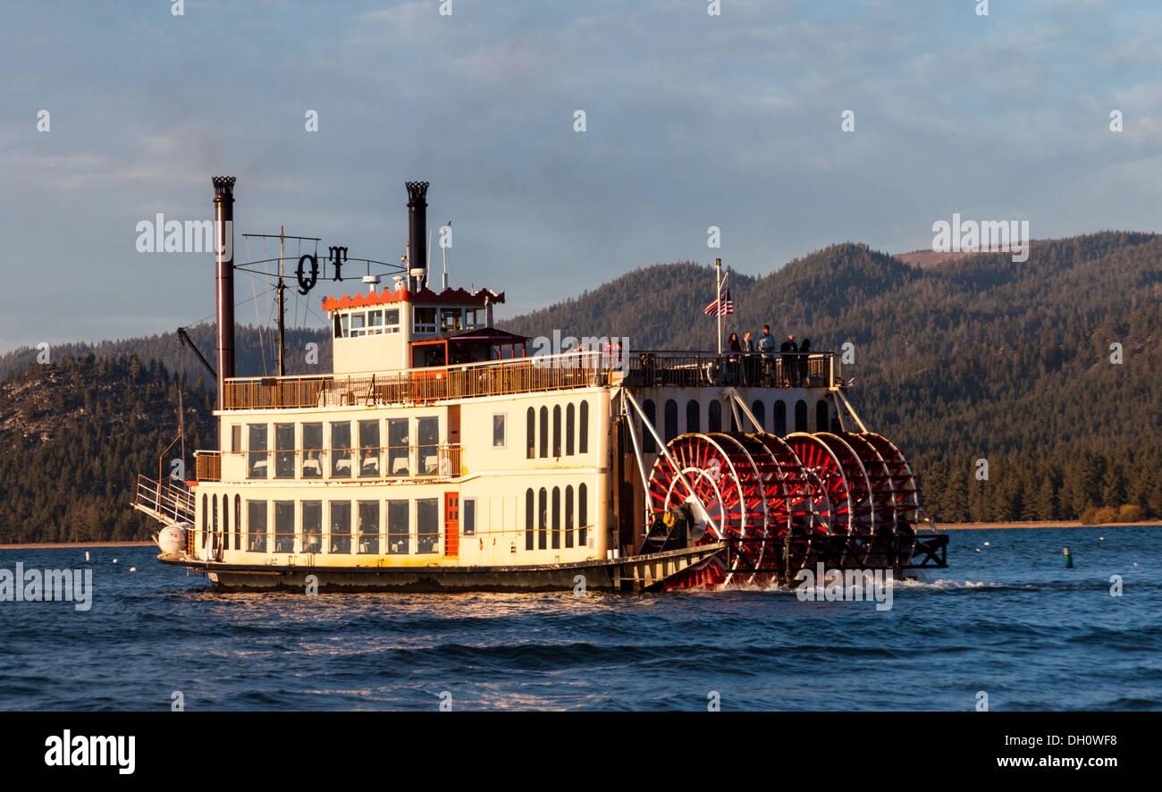 Tahoe Lake Boat Cruise Stock Photos Tahoe Lake Boat Cruise