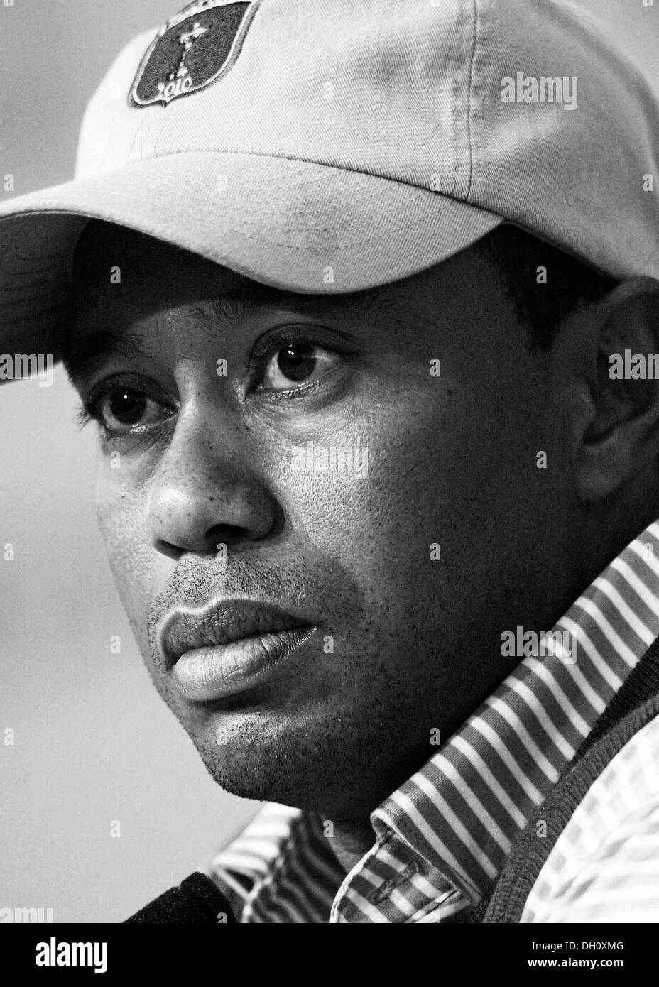 3ca3988bf Tiger Woods Black and White Stock Photos & Images - Alamy